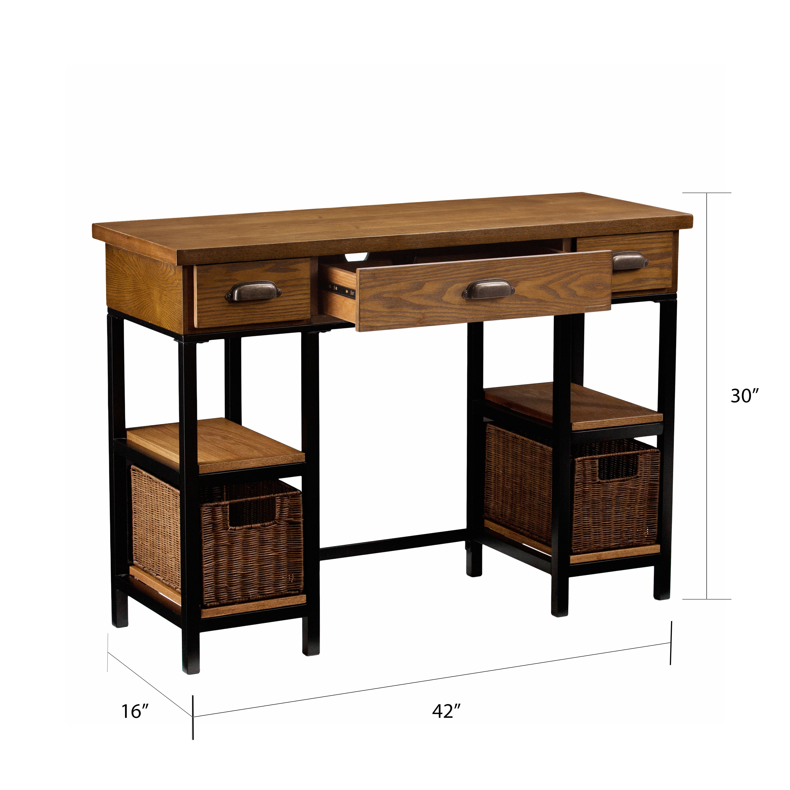 gb en unit wood material is cm with spr durable add brown light products computer natural desk solid on desks ikea a hemnes