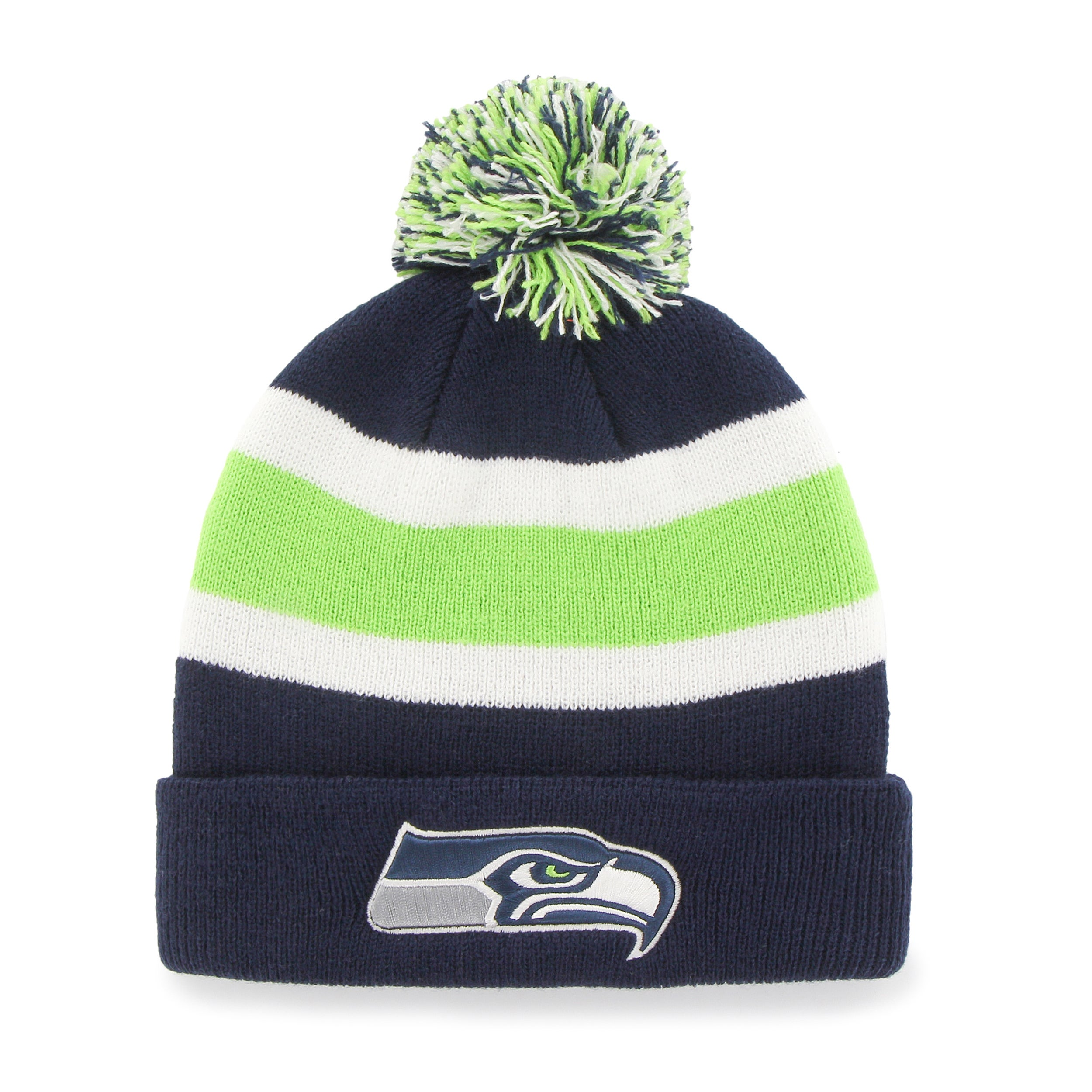 237daa6cc Shop 47 Brand Seattle Seahawks Breakaway Beanie Hat - Free Shipping On  Orders Over  45 - Overstock - 10654542