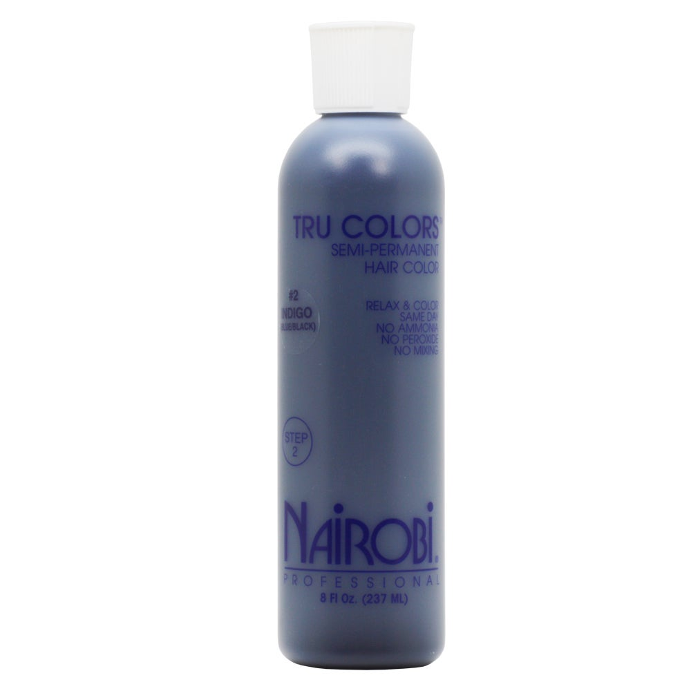 Shop Nairobi Tru Color Semi Permanent 8 Ounce Hair Color Blueblack