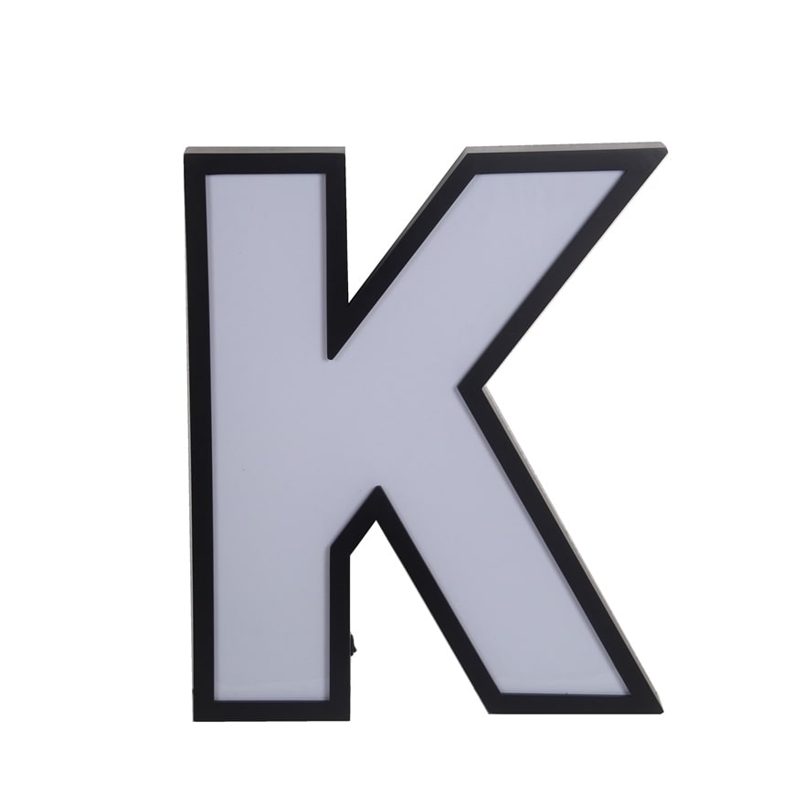 Shop Privilege Led Letter K Wall Decor Free Shipping Today