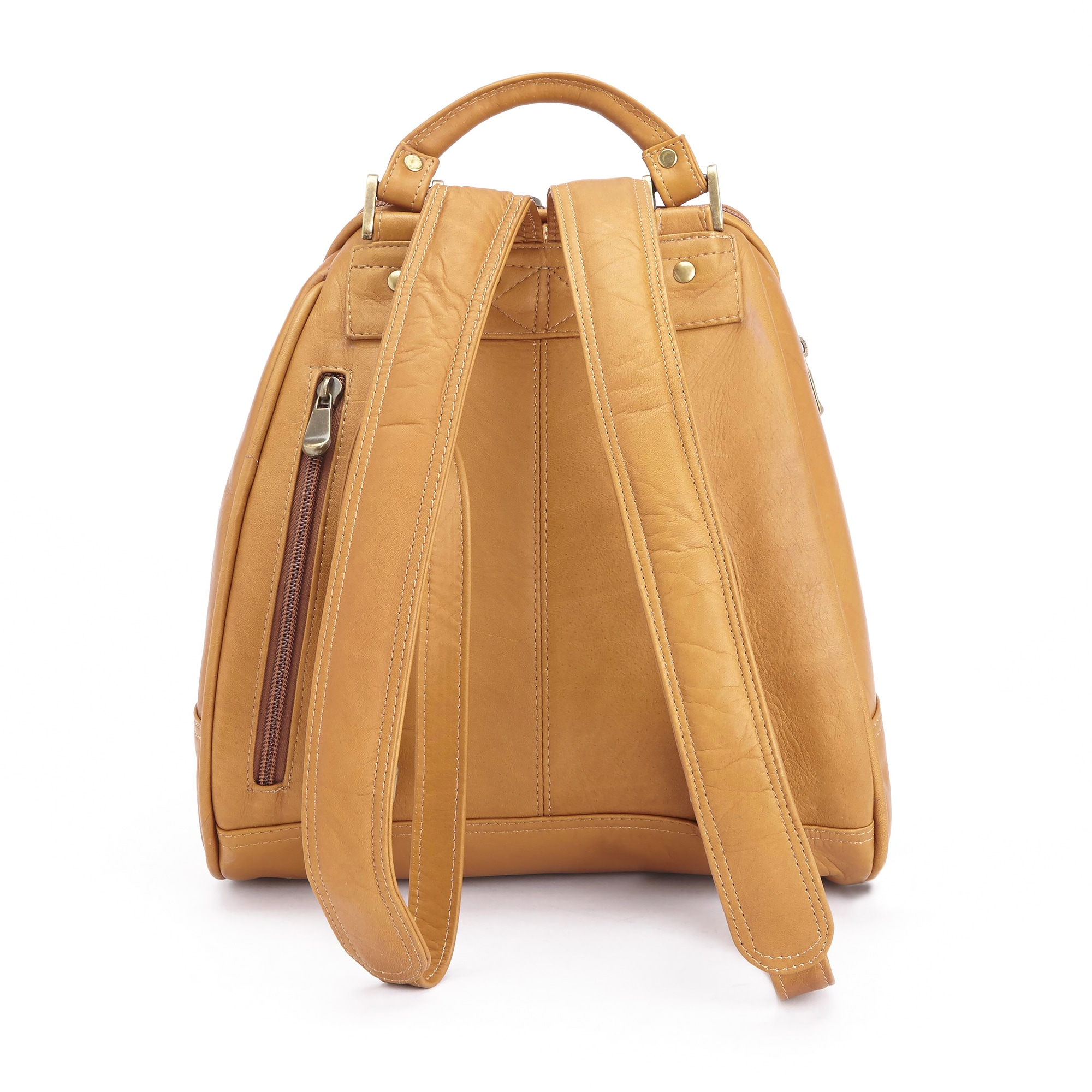 dc91bc2040 Shop Royce Leather Handcrafted Colombian Leather Luxury Sling Backpack - On  Sale - Free Shipping Today - Overstock - 10658048