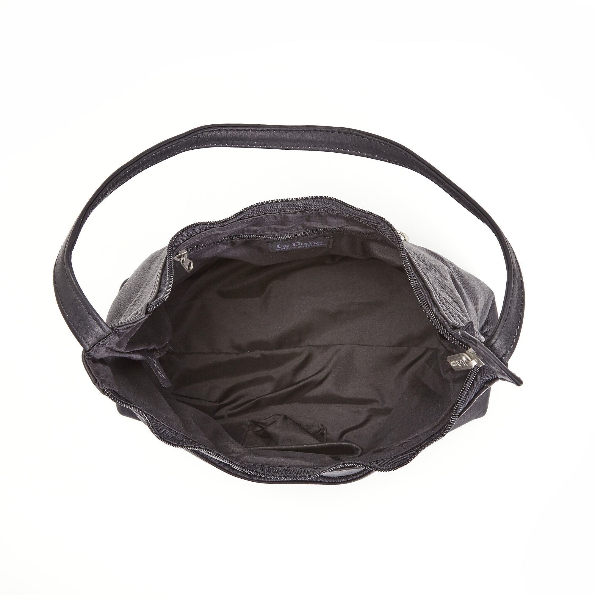 Shop Royce Leather Women s Columbian Leather Black Hobo Handbag - Free  Shipping Today - Overstock.com - 10659293 e08209344182b