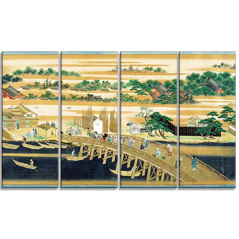 Shop Design Art \'Sumiyoshi - Famous Sites of the Sumida River\' Large ...