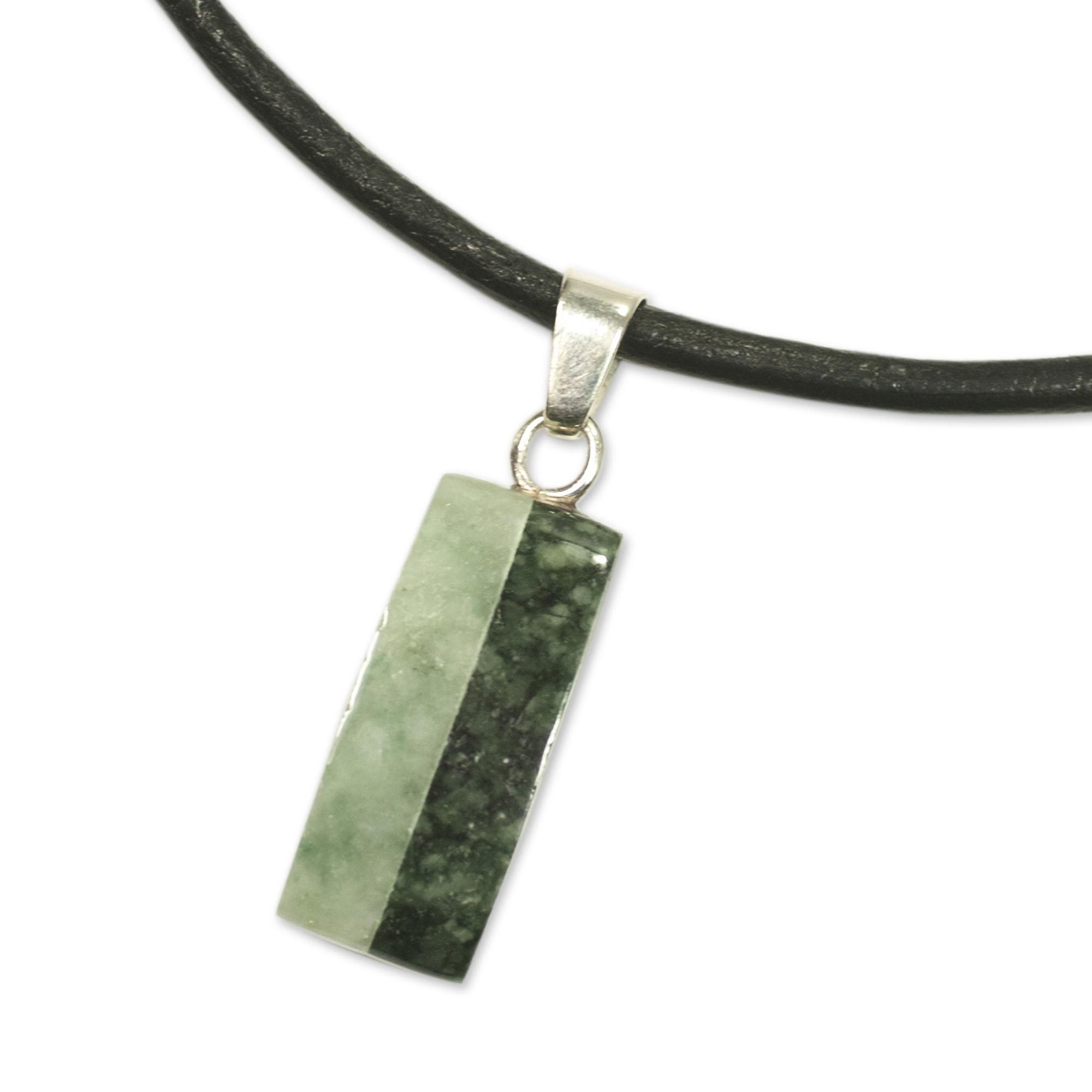 pendant crystal chinese jade necklace vaults nephrite