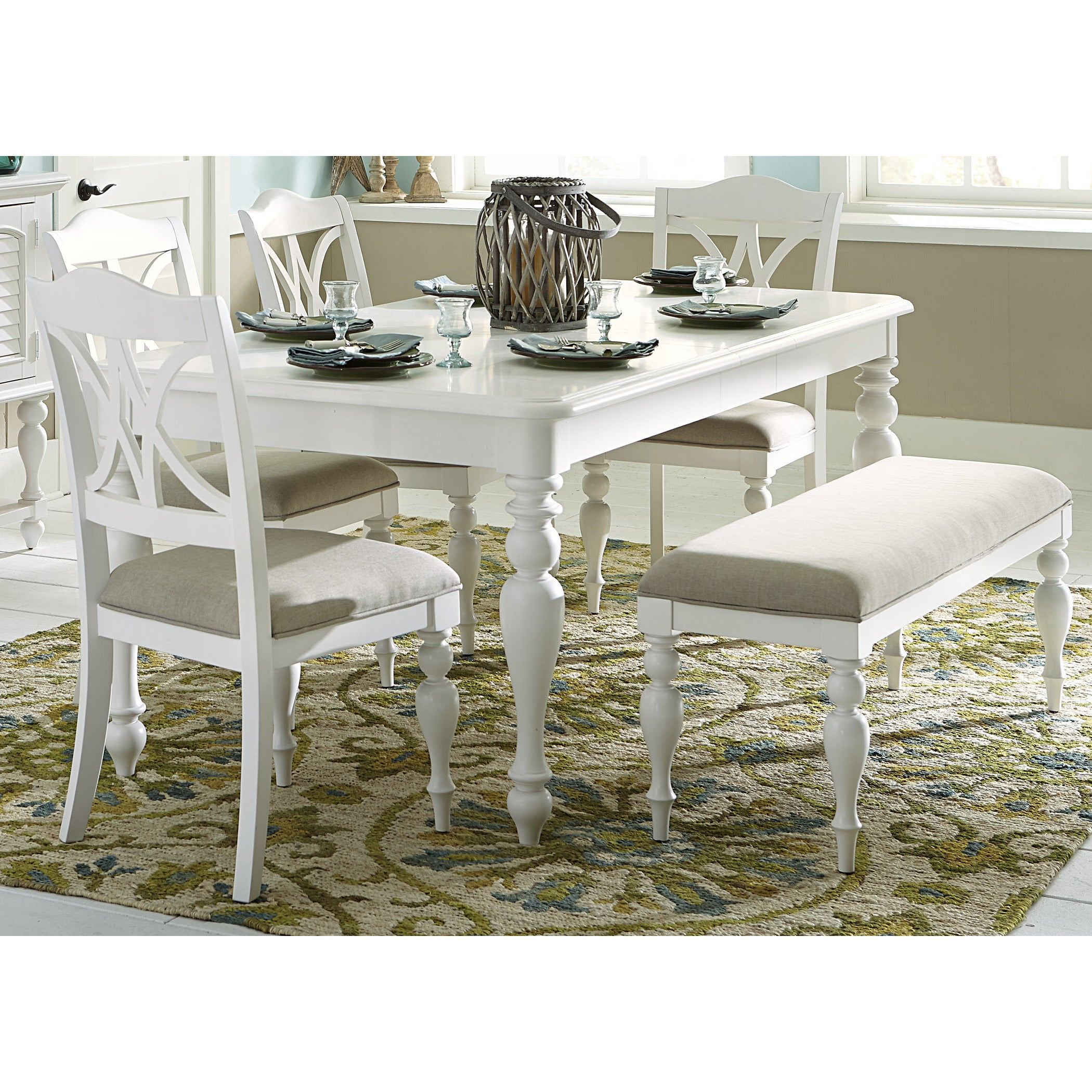 Summer Cottage White Dinette Table Free Shipping Today 10664664