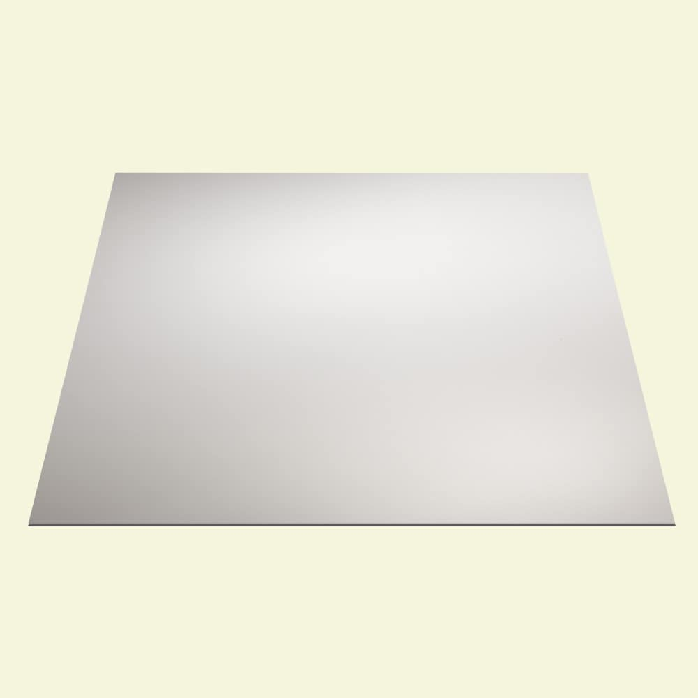 Shop Genesis Smooth Pro White 2 X 2 Ft Lay In Ceiling Tile Pack Of