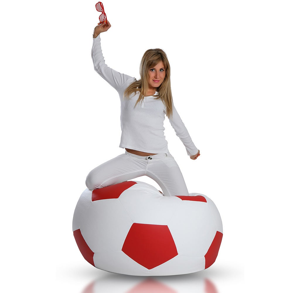Large Soccer Ball Bean Bag Chair Free Shipping Today 10670751