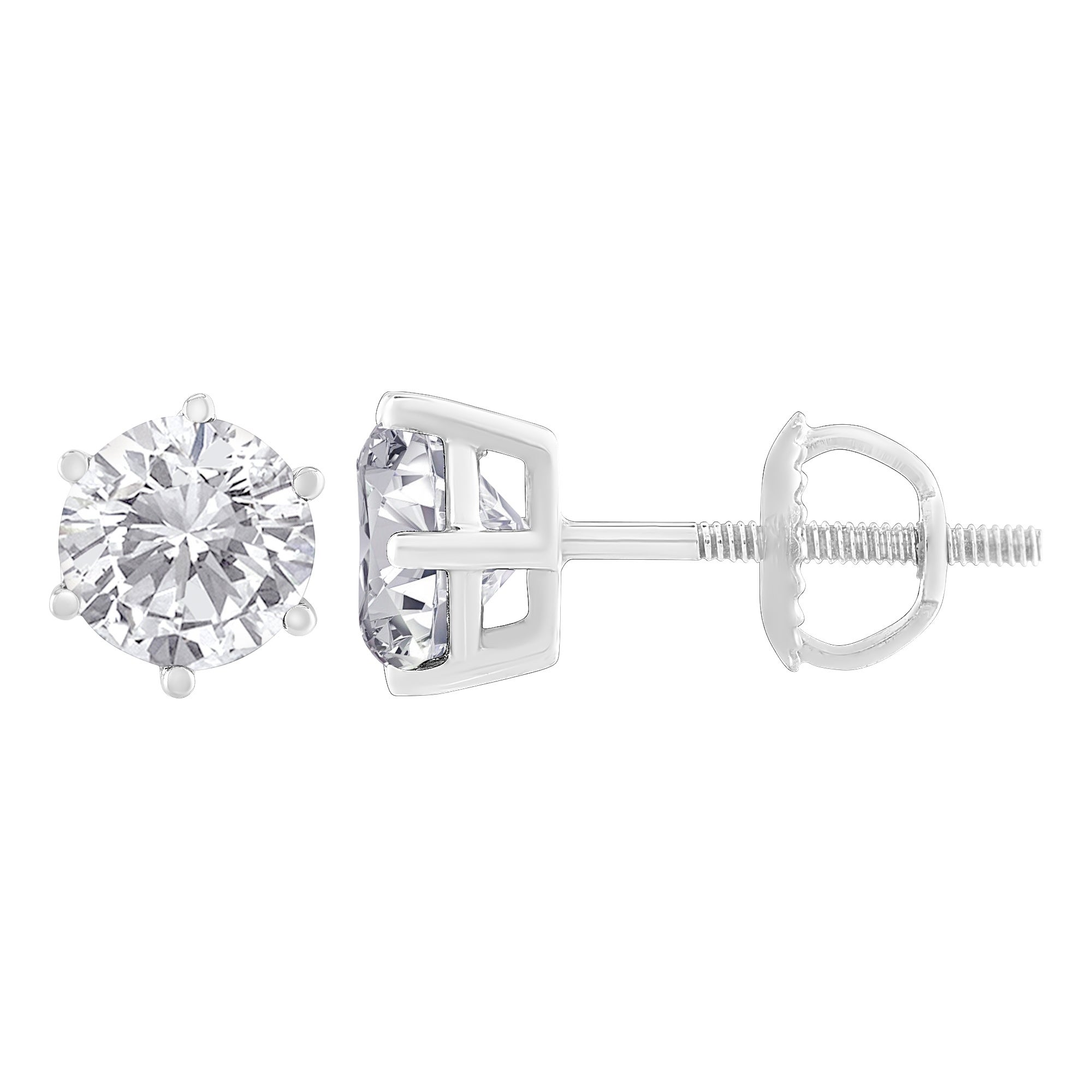 c products w ko stud earrings diamond anita
