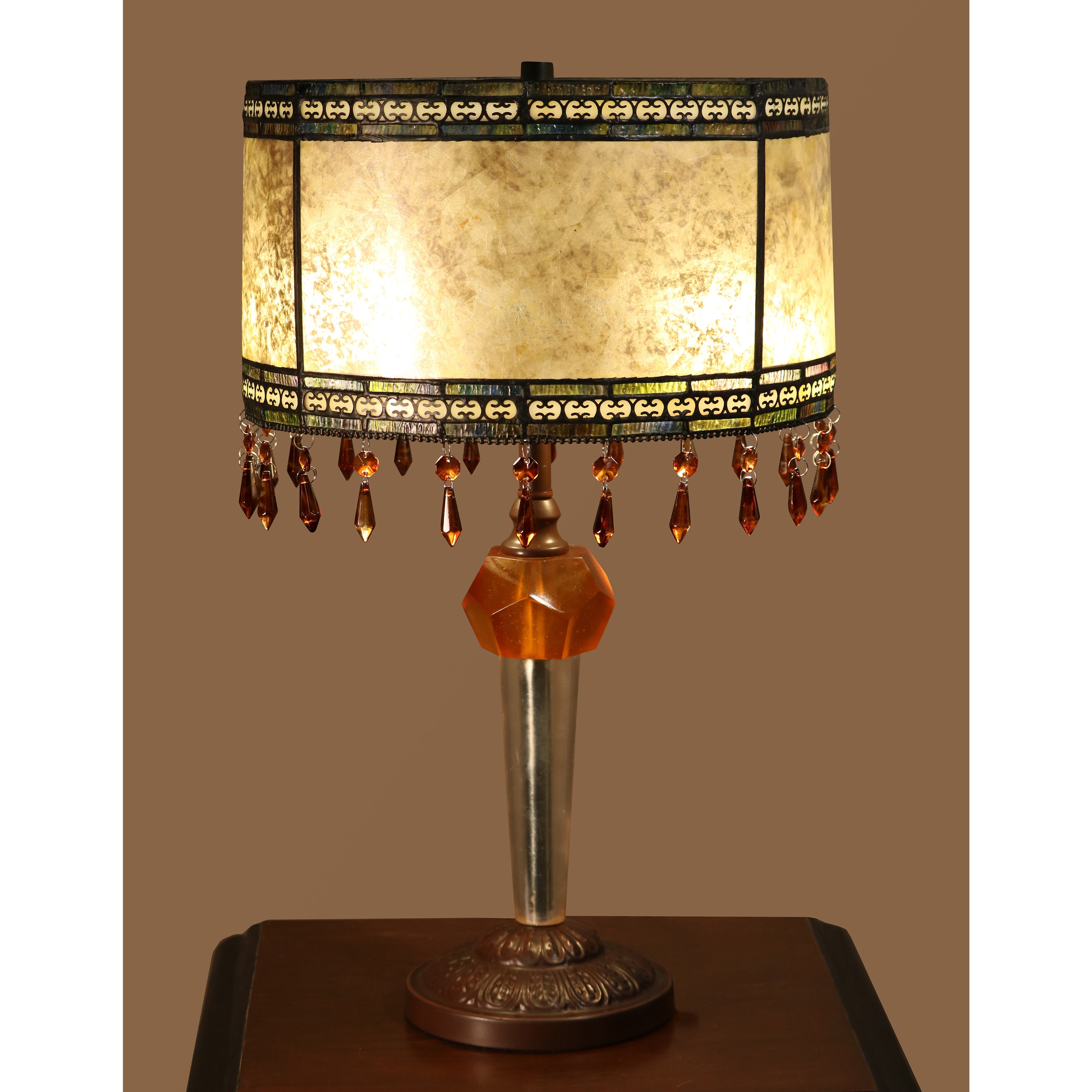 Jayden 2 Light Tiffany Style 14 Inch Table Lamp Free Shipping Today 17735486