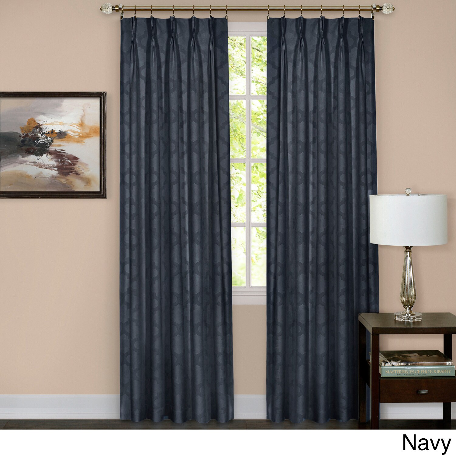 willis custom curtains pleated triple mckenzie made at product pleat available pinch
