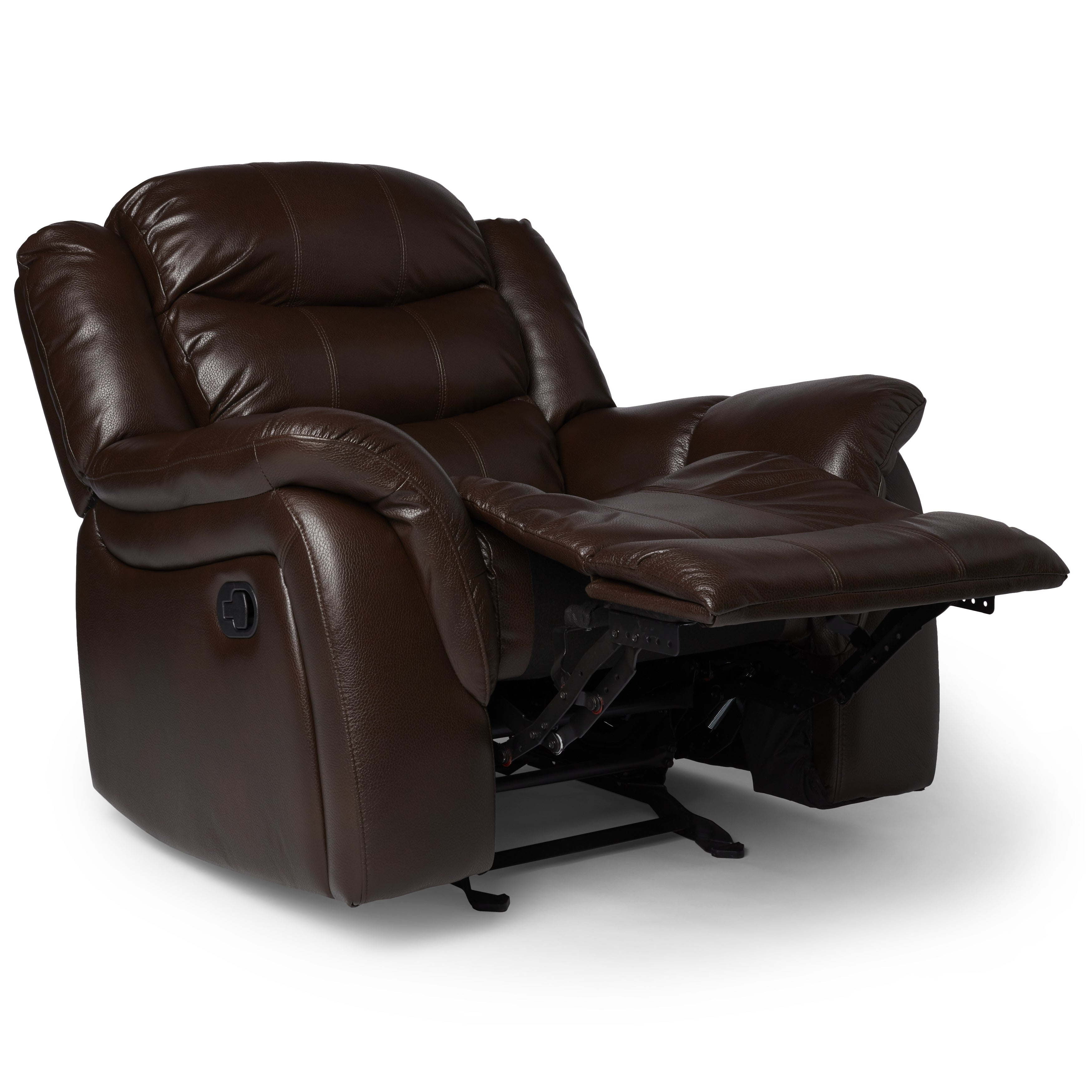 Shop Hawthorne PU Leather Glider Recliner Chair By Christopher Knight Home    On Sale   Free Shipping Today   Overstock.com   10673334
