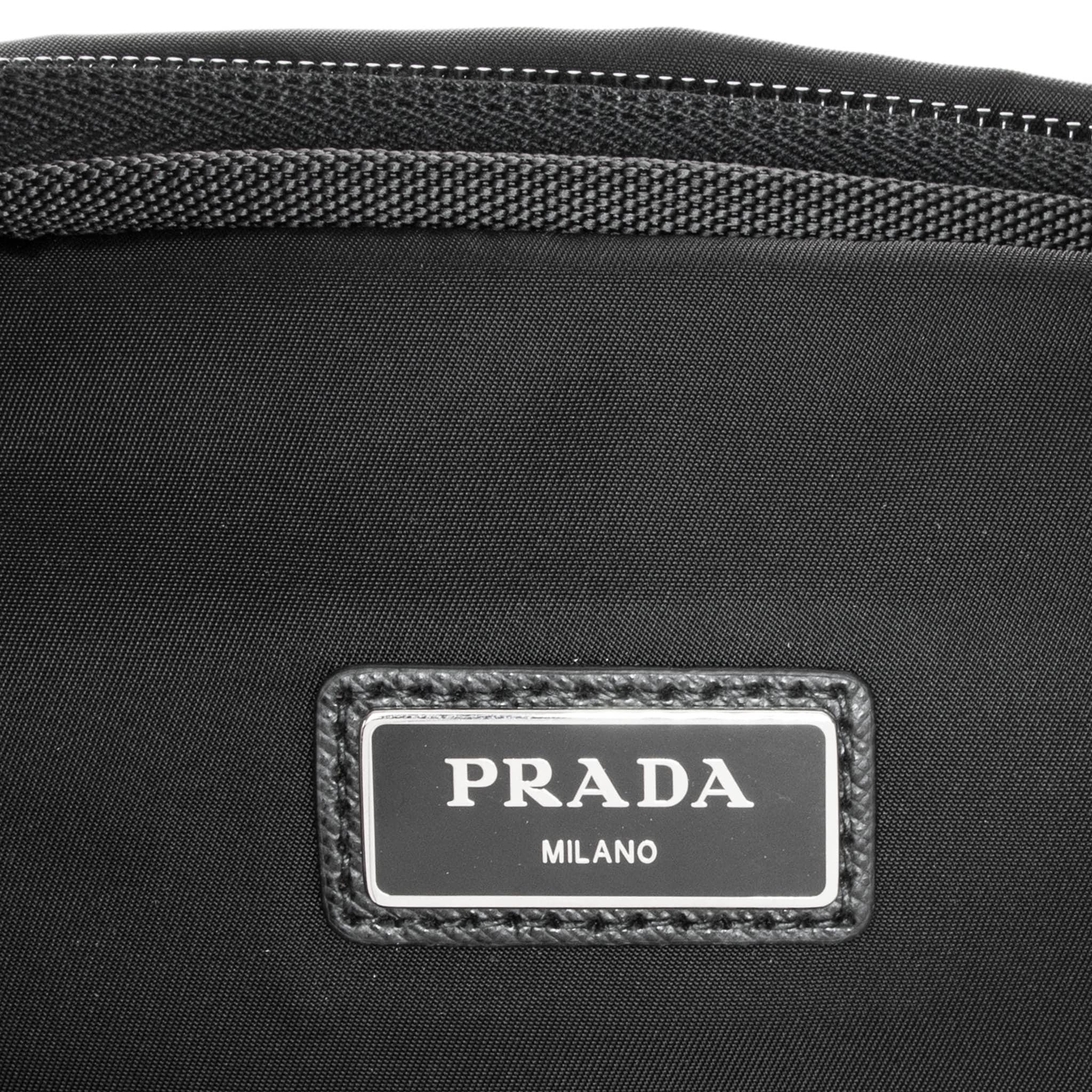 95b27cf9cadac6 ... purchase shop prada tessuto montana belt bag free shipping today  overstock 10674191 7b76b c3074