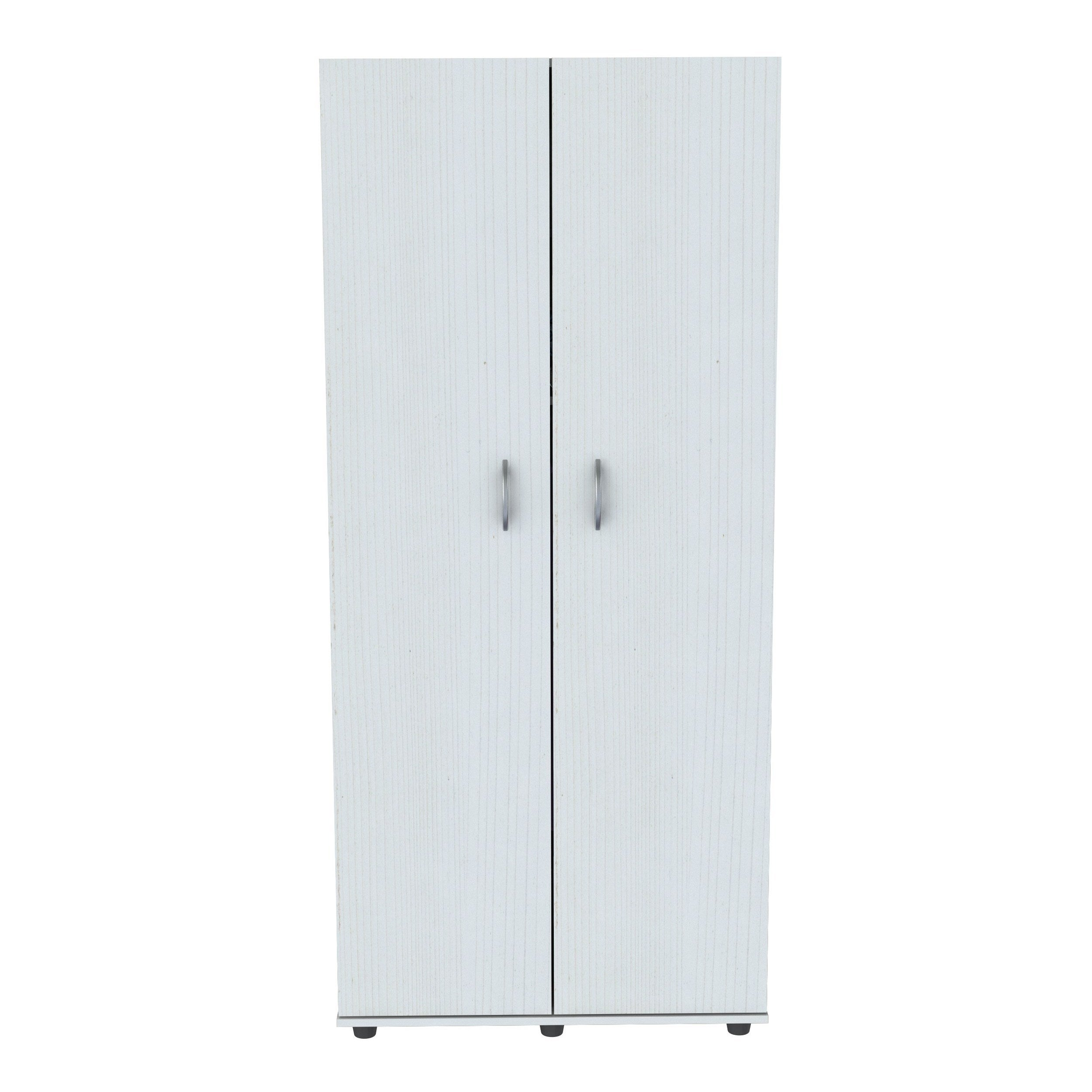 Genial Inval Laricina White 2 Door Armoire   Free Shipping Today   Overstock.com    17740652