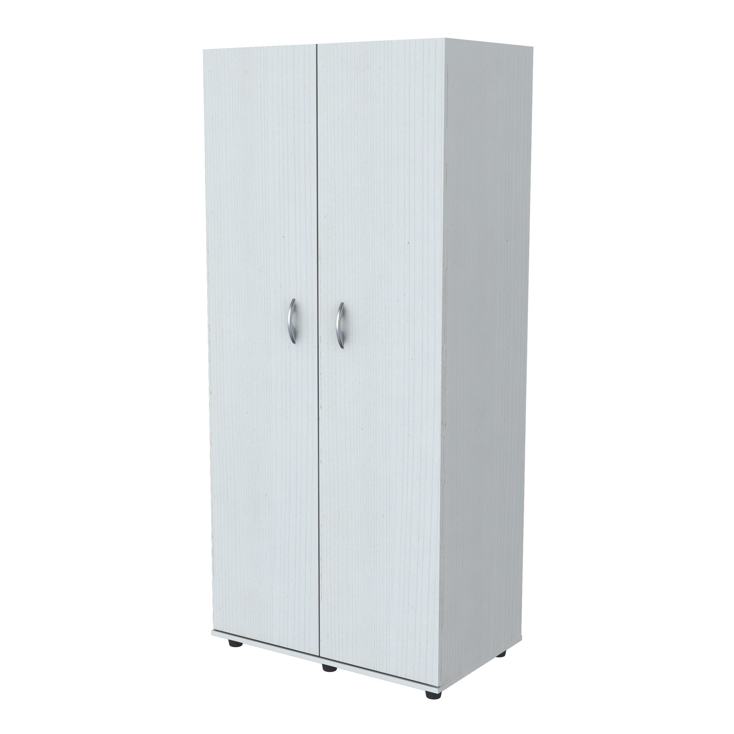 Inval Laricina White 2 Door Armoire   Free Shipping Today   Overstock.com    17740652