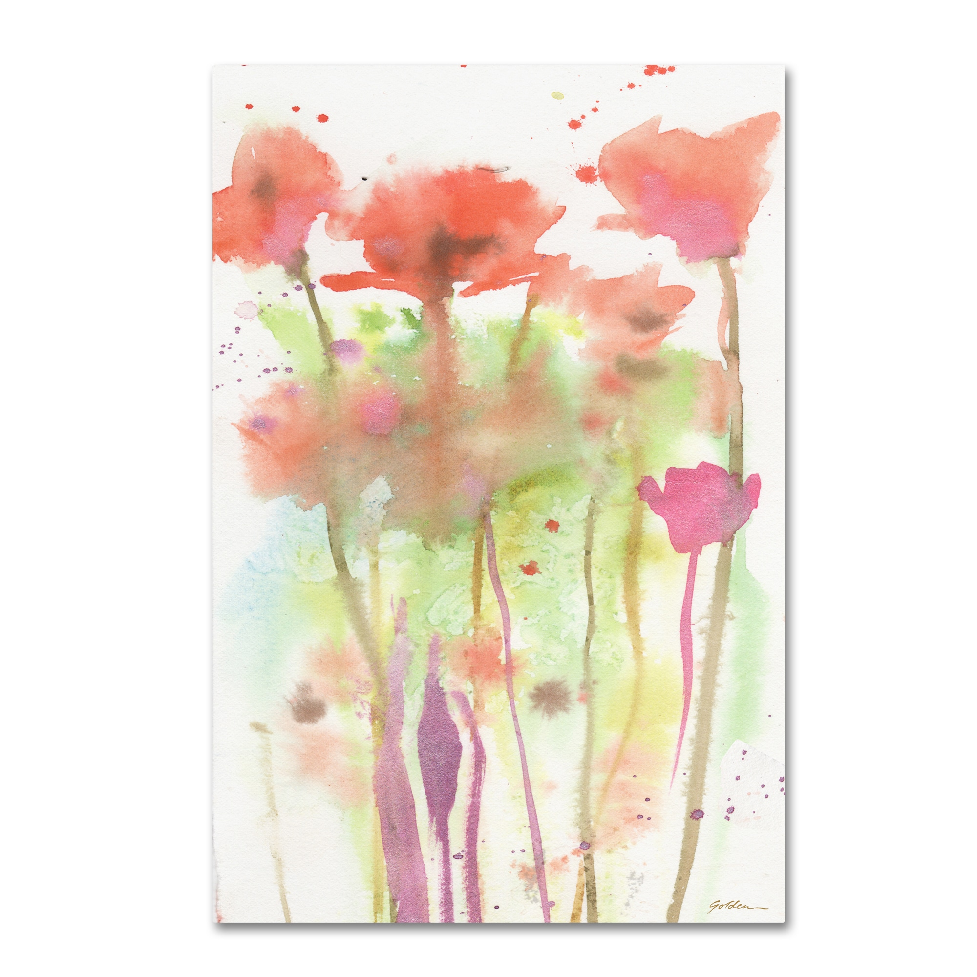 Amazing Red Poppies Canvas Wall Art Images - Art & Wall Decor ...
