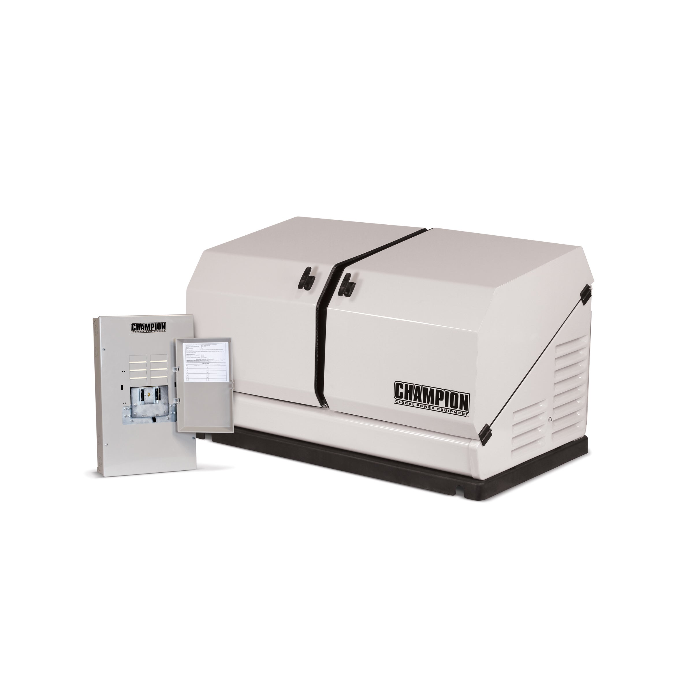 Champion 8 5 kW Home Standby Generator with 50 Amp Indoor Rated