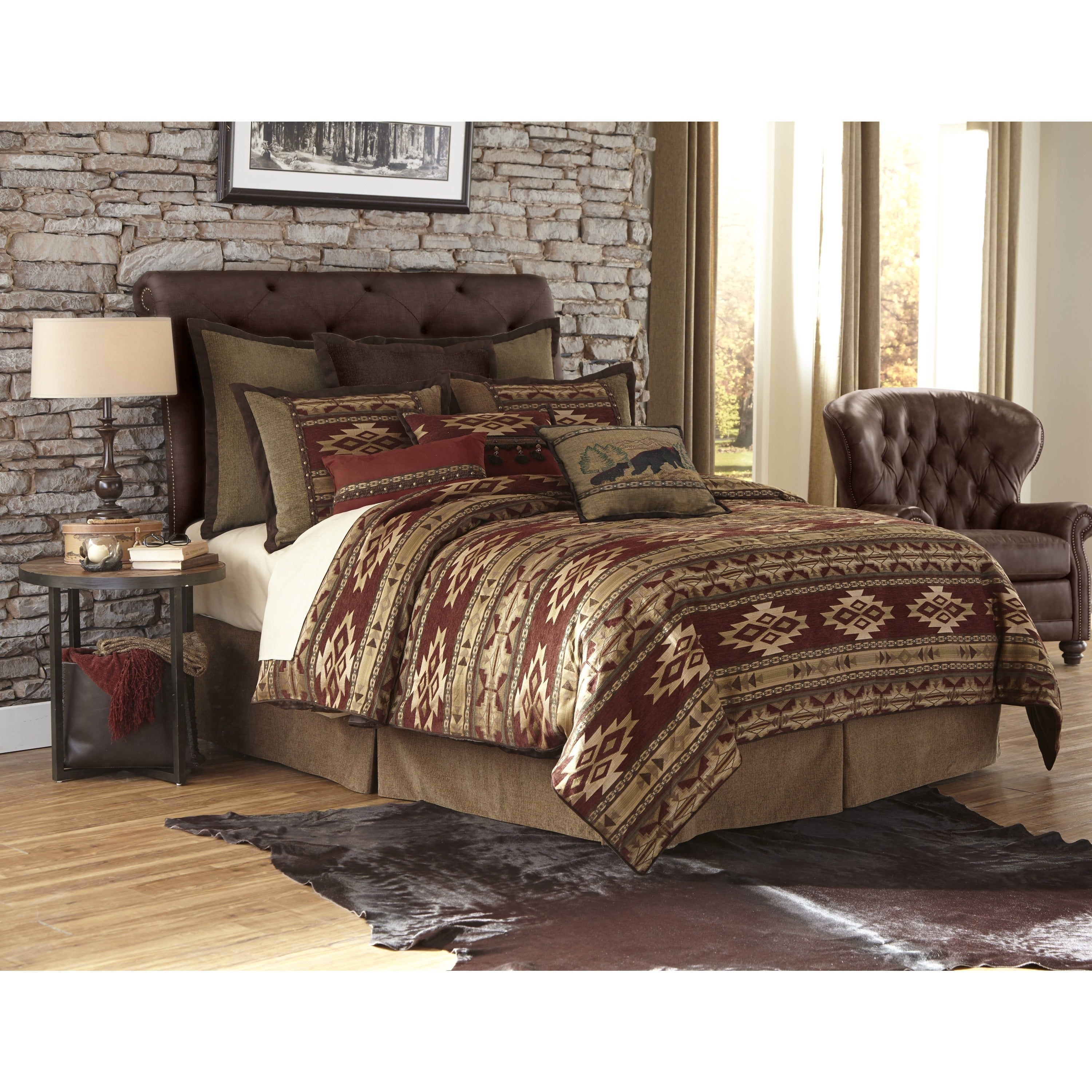 flannel king forter set southwestern of gray home comforters aztec design tan duds ideas pc tribal comforter nafis cuddl
