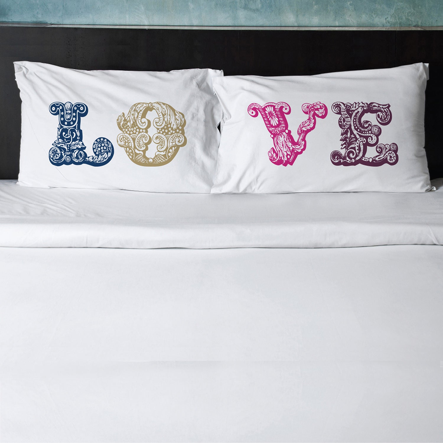 Nice Pillowtalk Pillowcases, Pillowcases With Phrases (Set Of 2)   Free Shipping  On Orders Over $45   Overstock.com   17742560 Awesome Design