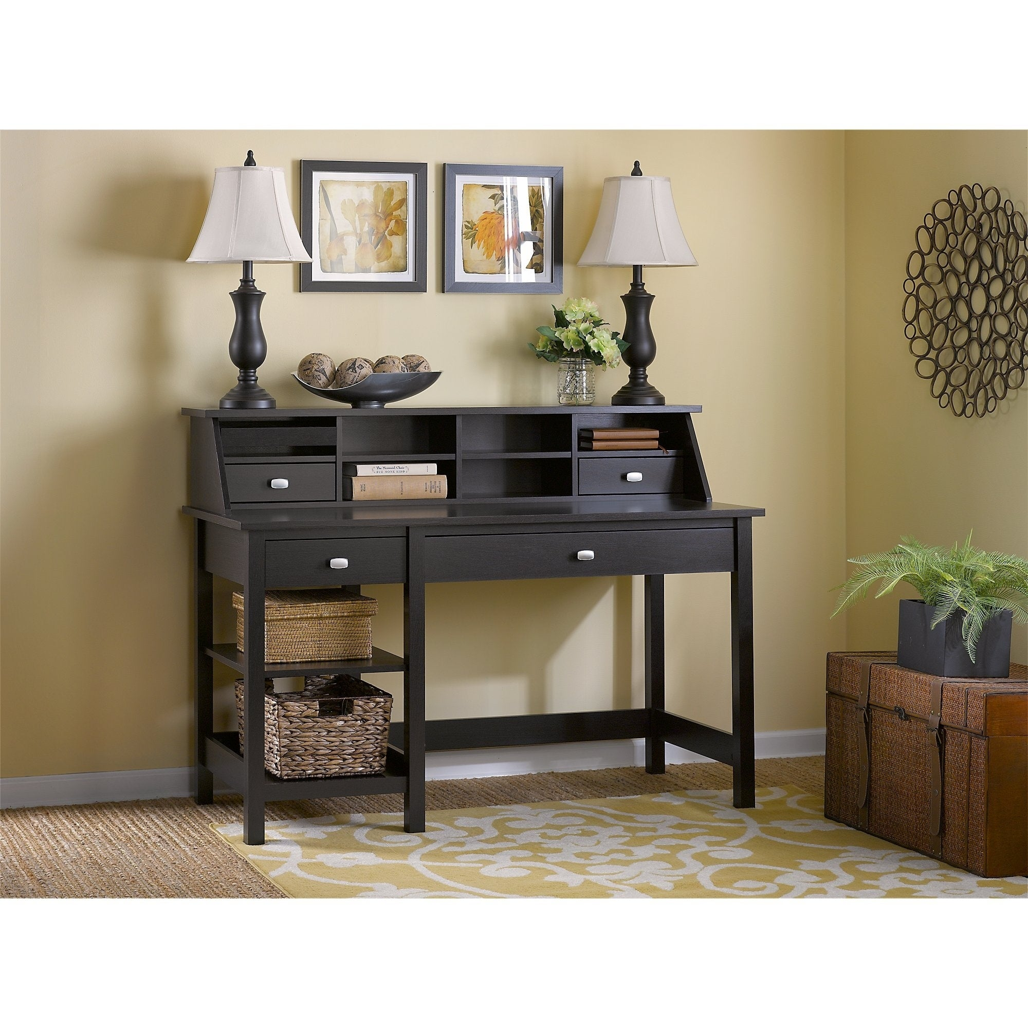 computer drawers oak cheap inspirations wooden with most desk small great simple