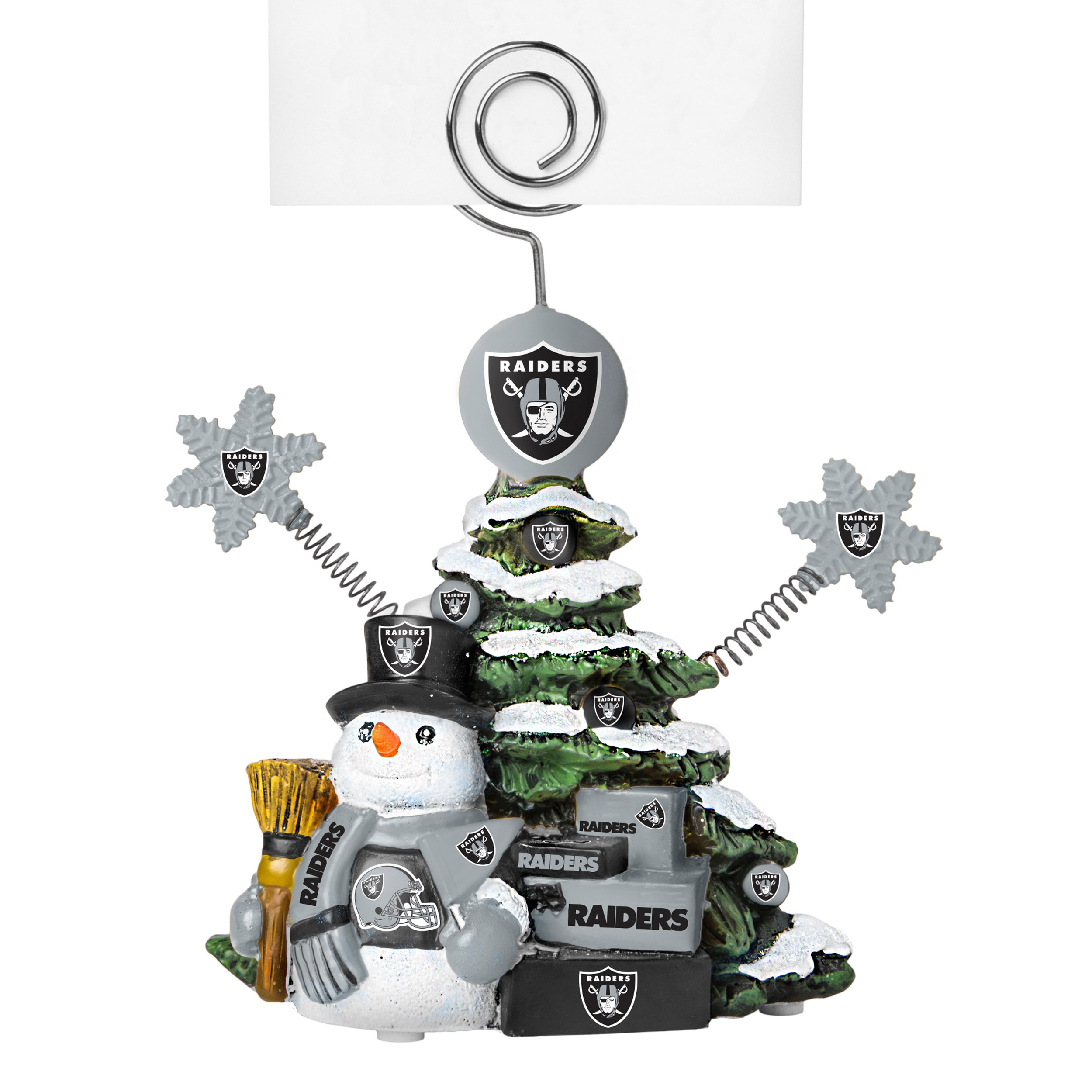 Oakland Raiders Cast Porcelain Tree Photo Holder - Free Shipping On ...