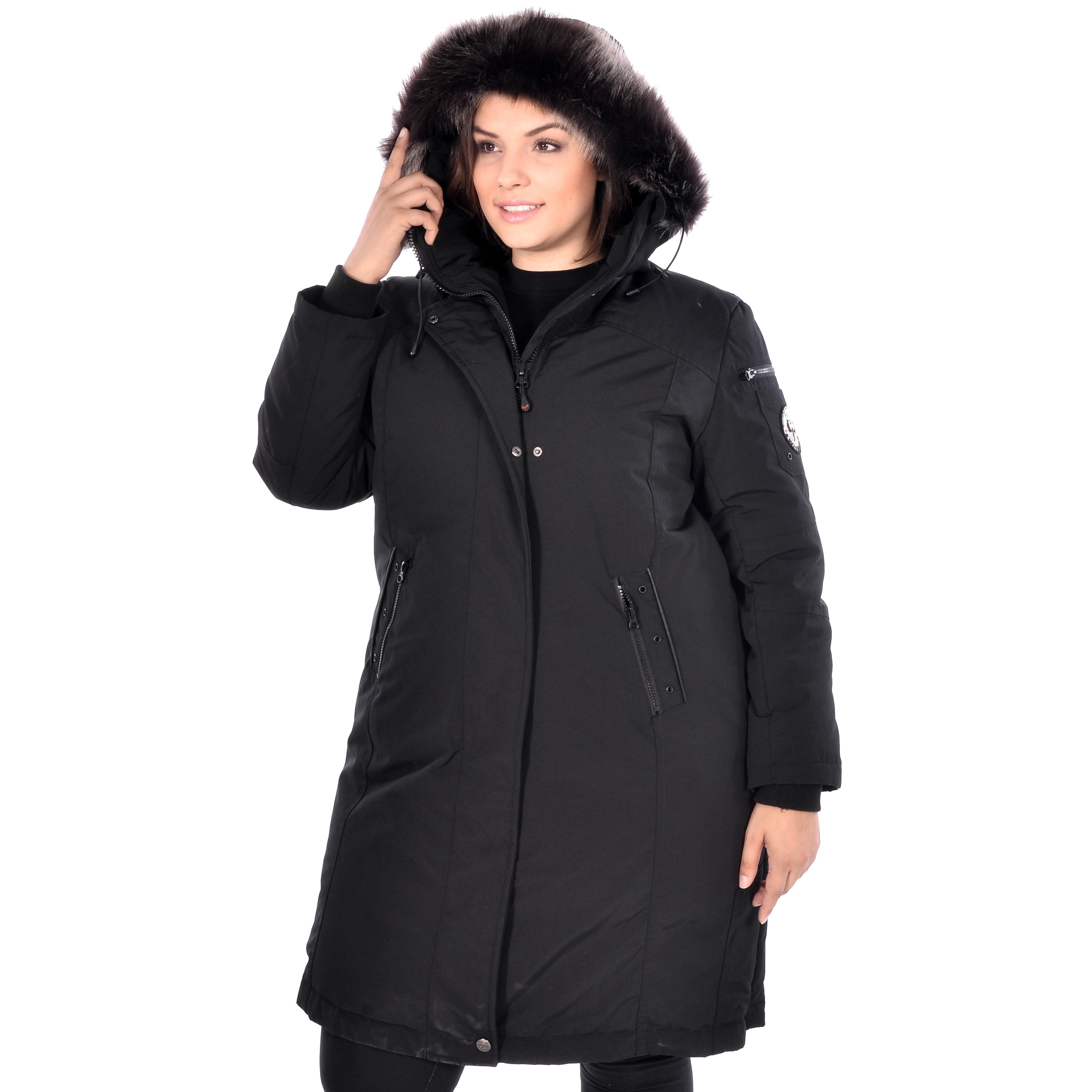 3a5844b84e8 Shop Women s Plus Size Down Coat - Free Shipping Today - Overstock -  10694189