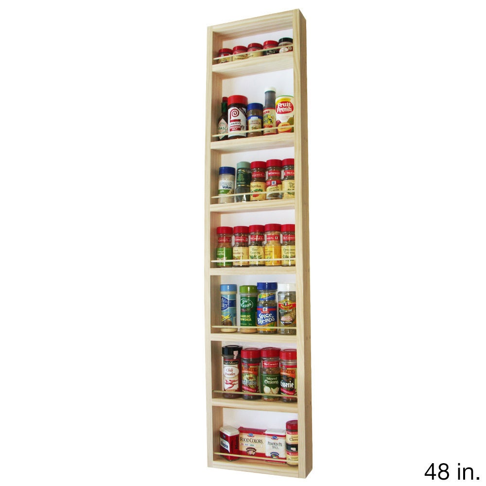Elgin On The Wall Spice Rack (7 inches wide x 2.5 inches deep) - Free  Shipping On Orders Over $45 - Overstock.com - 17756196