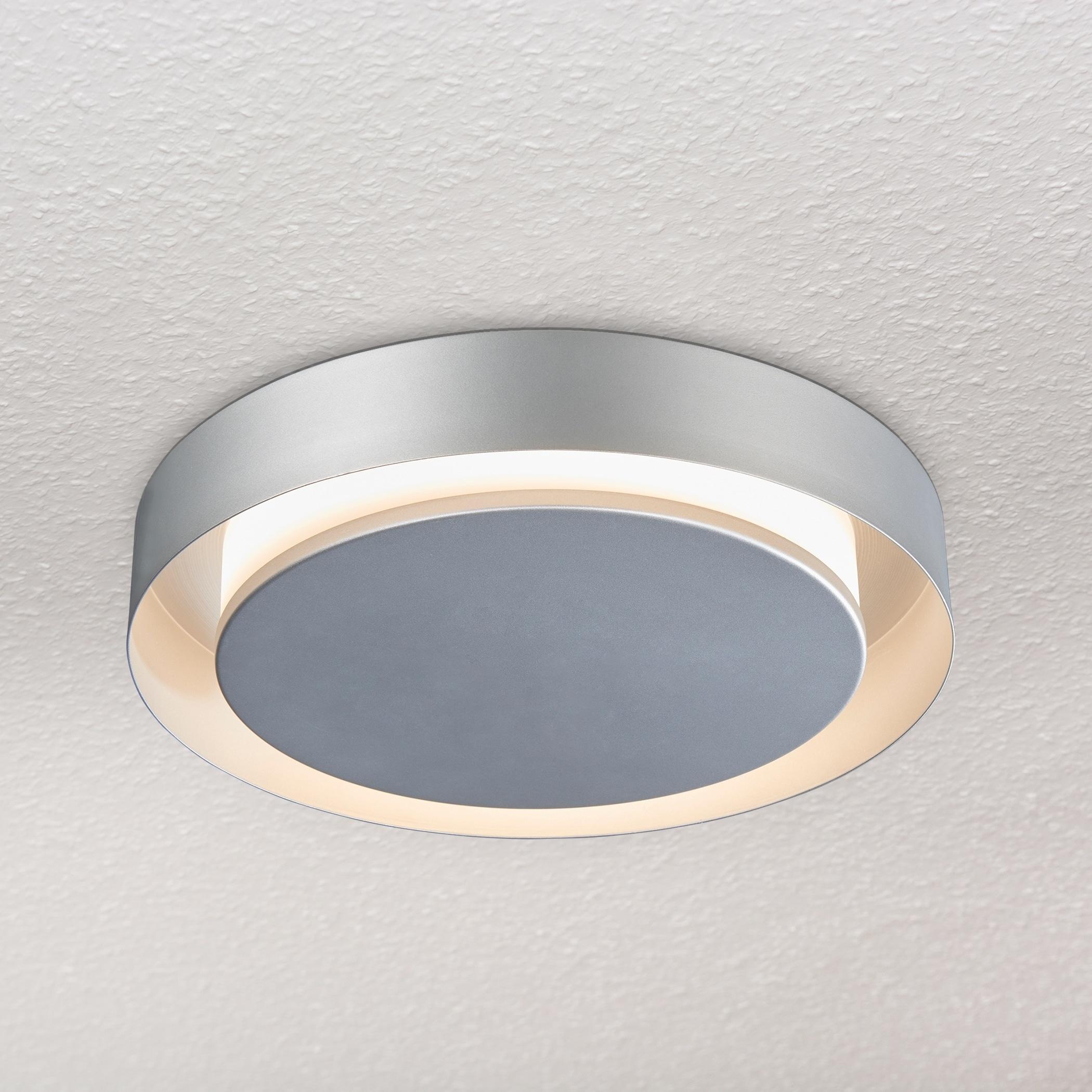 Vonn lighting vmcf41100al talitha 16 inch led circular ceiling fixture in silver