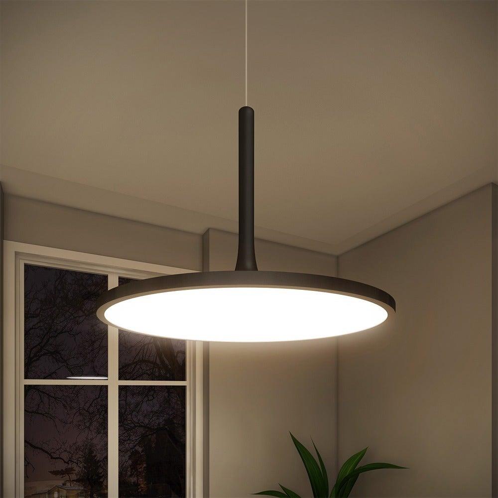 VONN Lighting Salm 17 inches LED Chandelier, Height Adjustable ...
