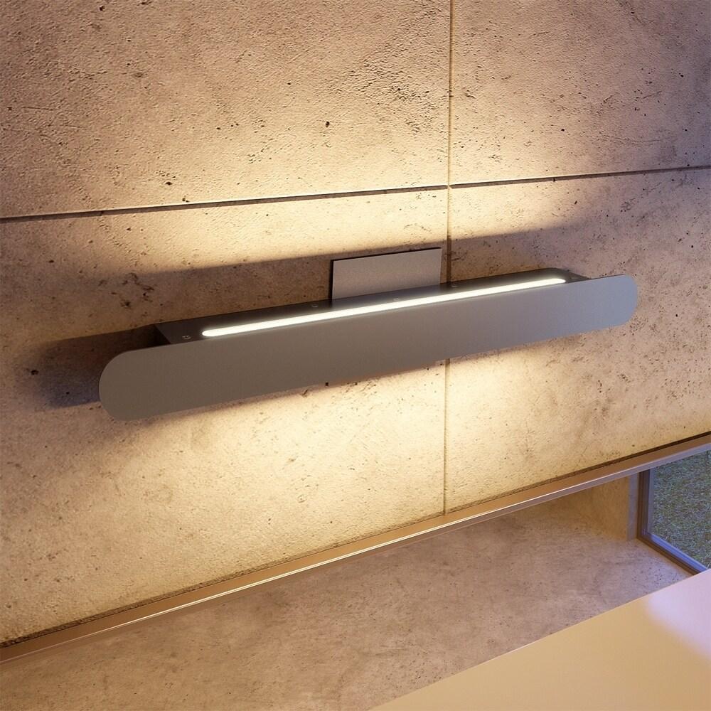 Shop VONN Lighting VMW11100AL Scheddi 22-inch LED Bathroom Light in ...