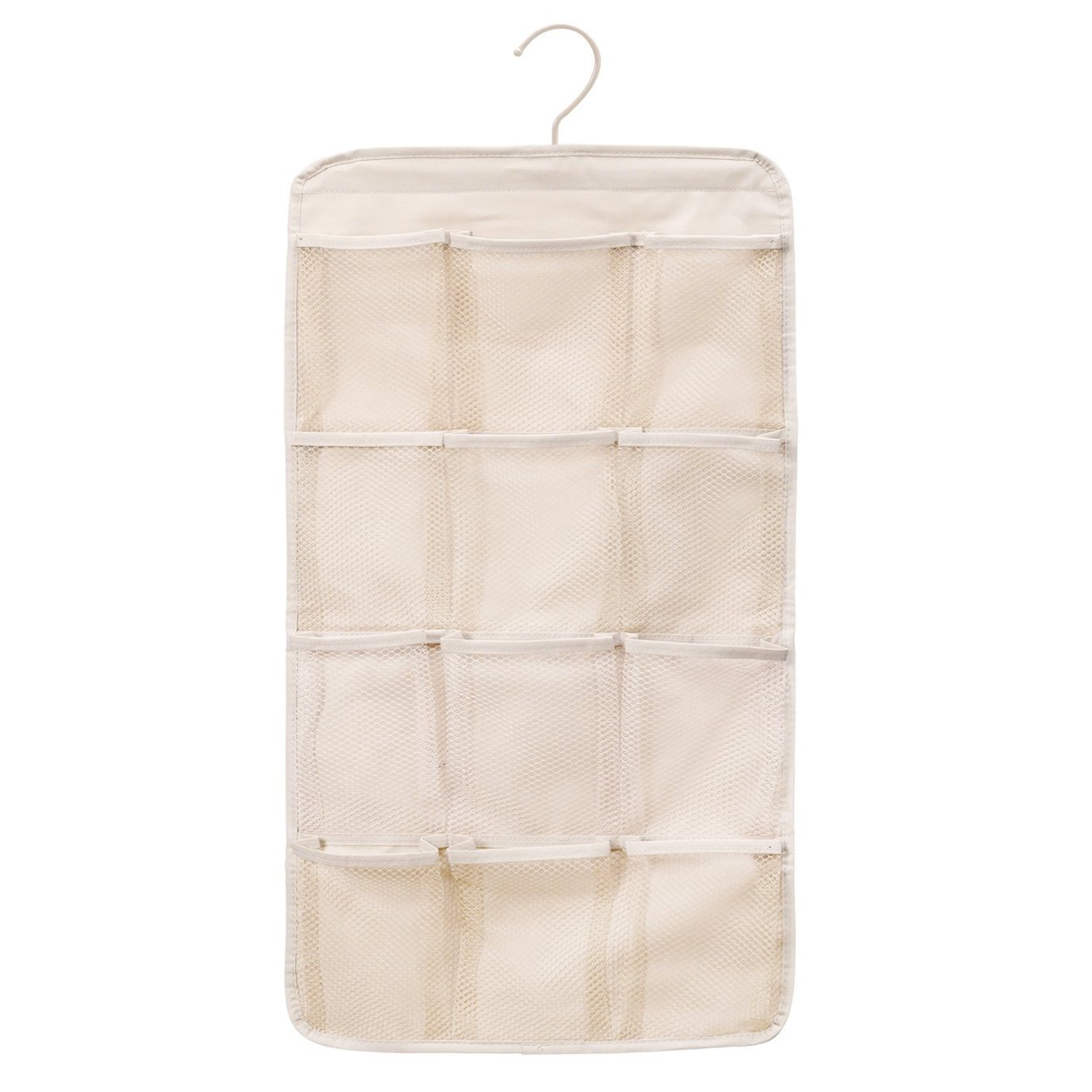 a9297de97600 StorageManiac Durable Hanging Organizer, Double-sided Storage Bag with 12  Mesh Pockets and 2 PPE Pockets