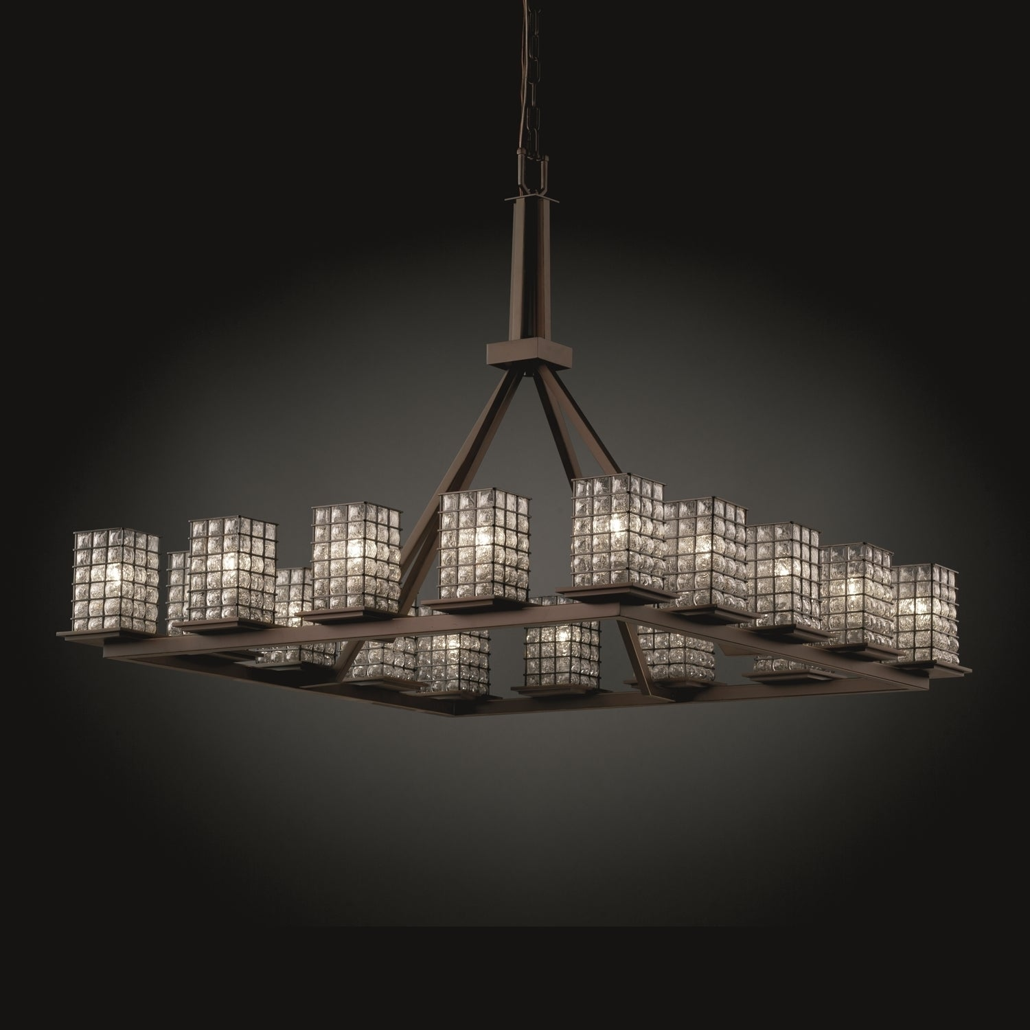Justice design group wire glass montana ring chandelier square with justice design group wire glass montana ring chandelier square with flat rim free shipping today overstock 17757532 arubaitofo Images