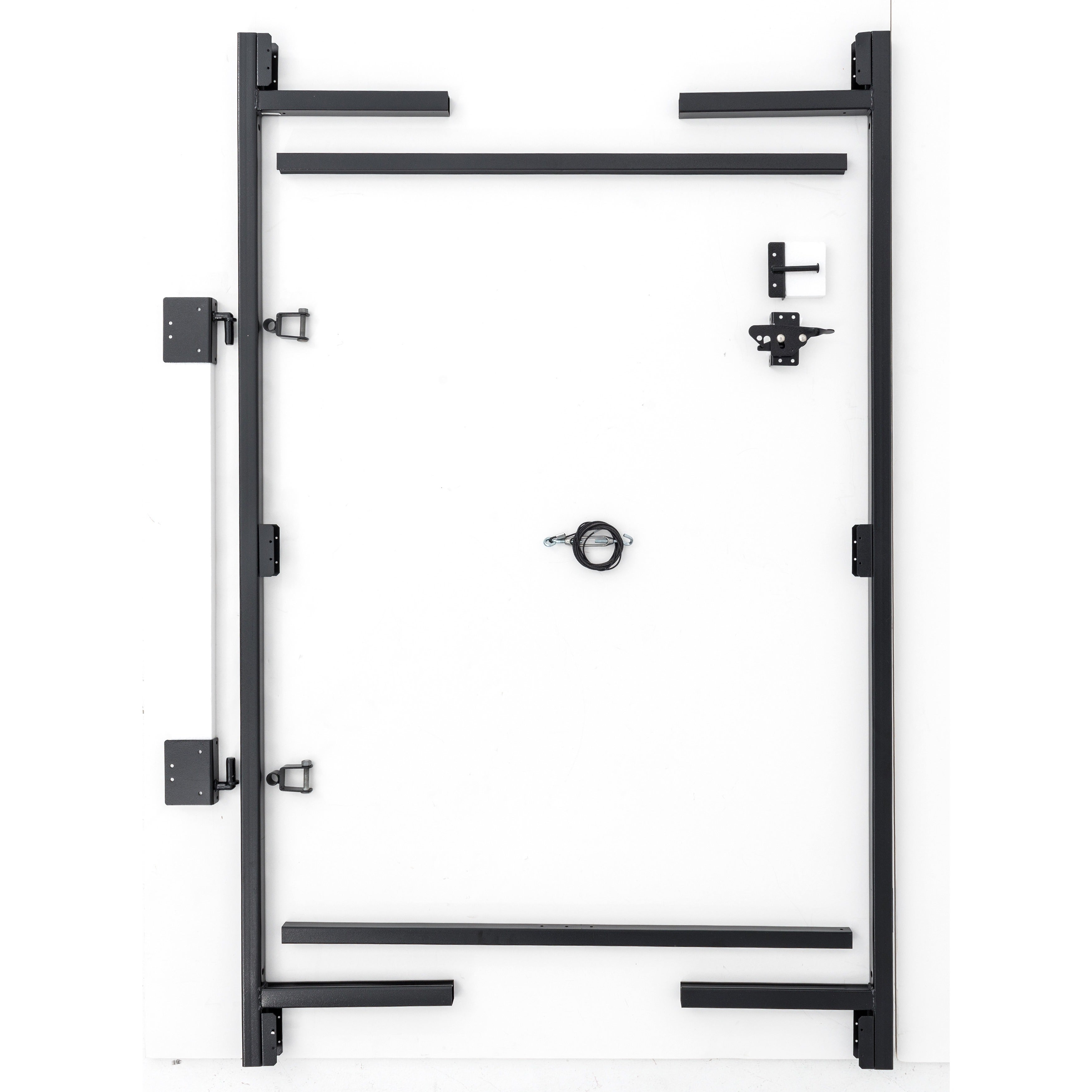 Shop Adjust A Gate Contractor Series 3 Rail 36 60 Inch Wide Kit Hoc Store Black Floral French Cuff Free Shipping Today 10698156