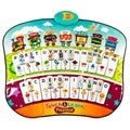 Educational Piano Play Mat 4 Games and Activities with Alphabet, Words, Shapes, Spelling, Colors, and Music by Dimple