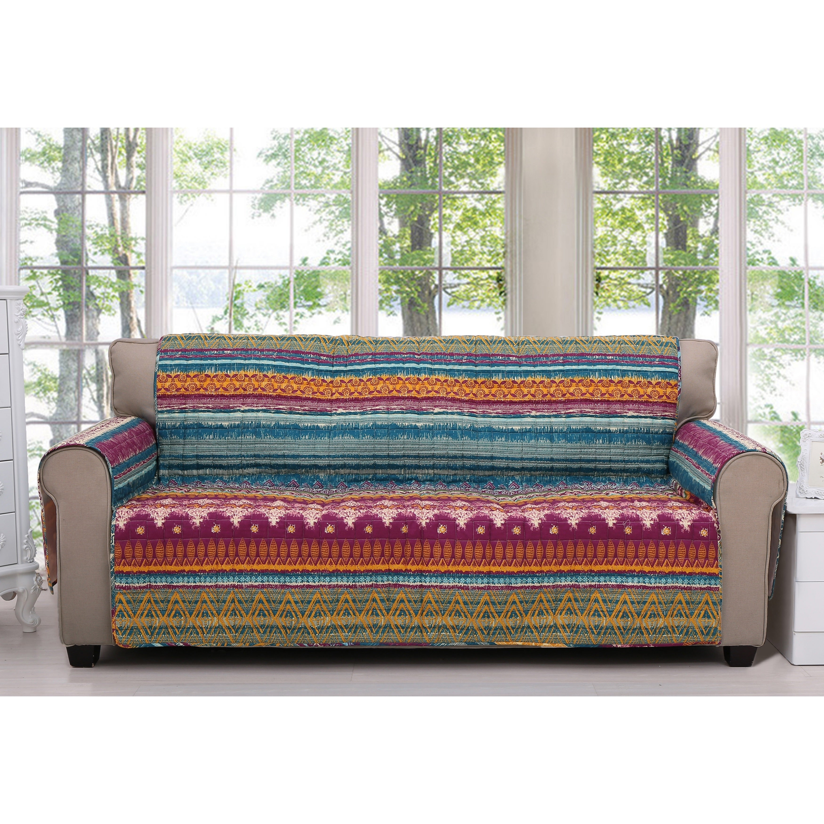Shop Greenland Home Fashions Southwest Furniture Sofa Protector On