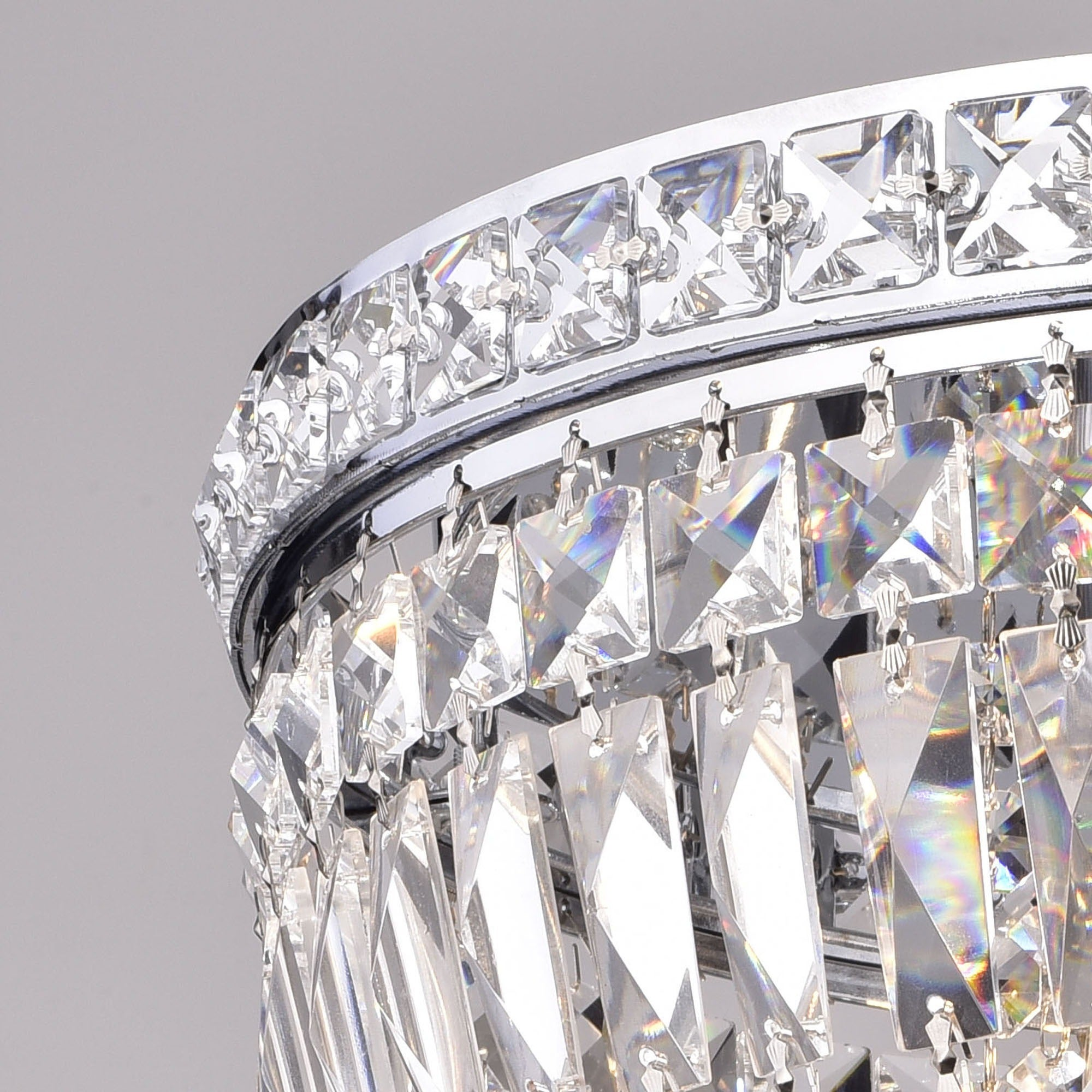 inspirational luxury of chandelier crystal ring