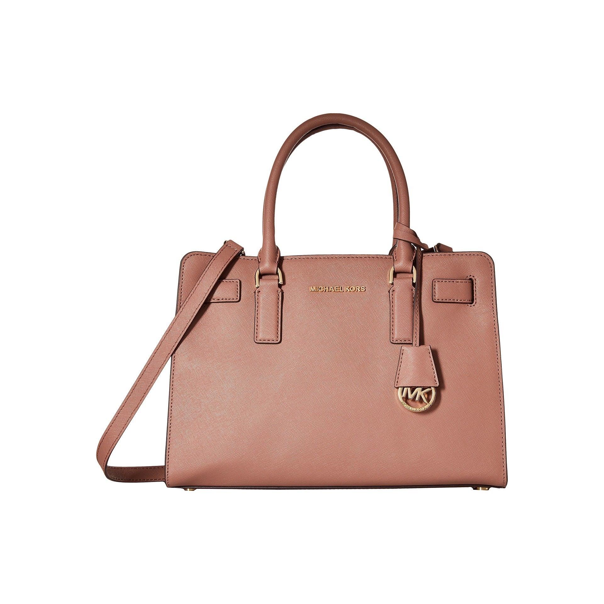 05404070eb97fd Shop Michael Kors Dillon Dusty Rose East/West Satchel Handbag - Free ...