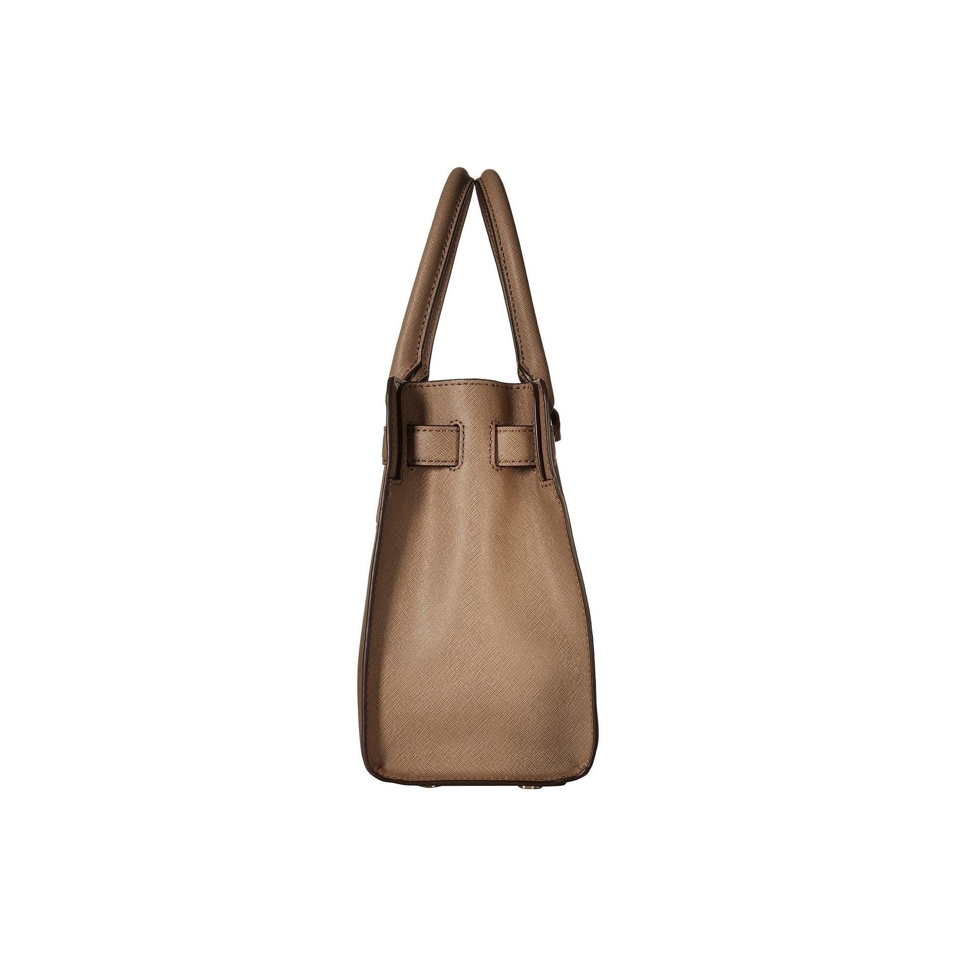 171114444c Shop Michael Kors Dillon Dark Dune East West Satchel Handbag - Free  Shipping Today - Overstock - 10702482