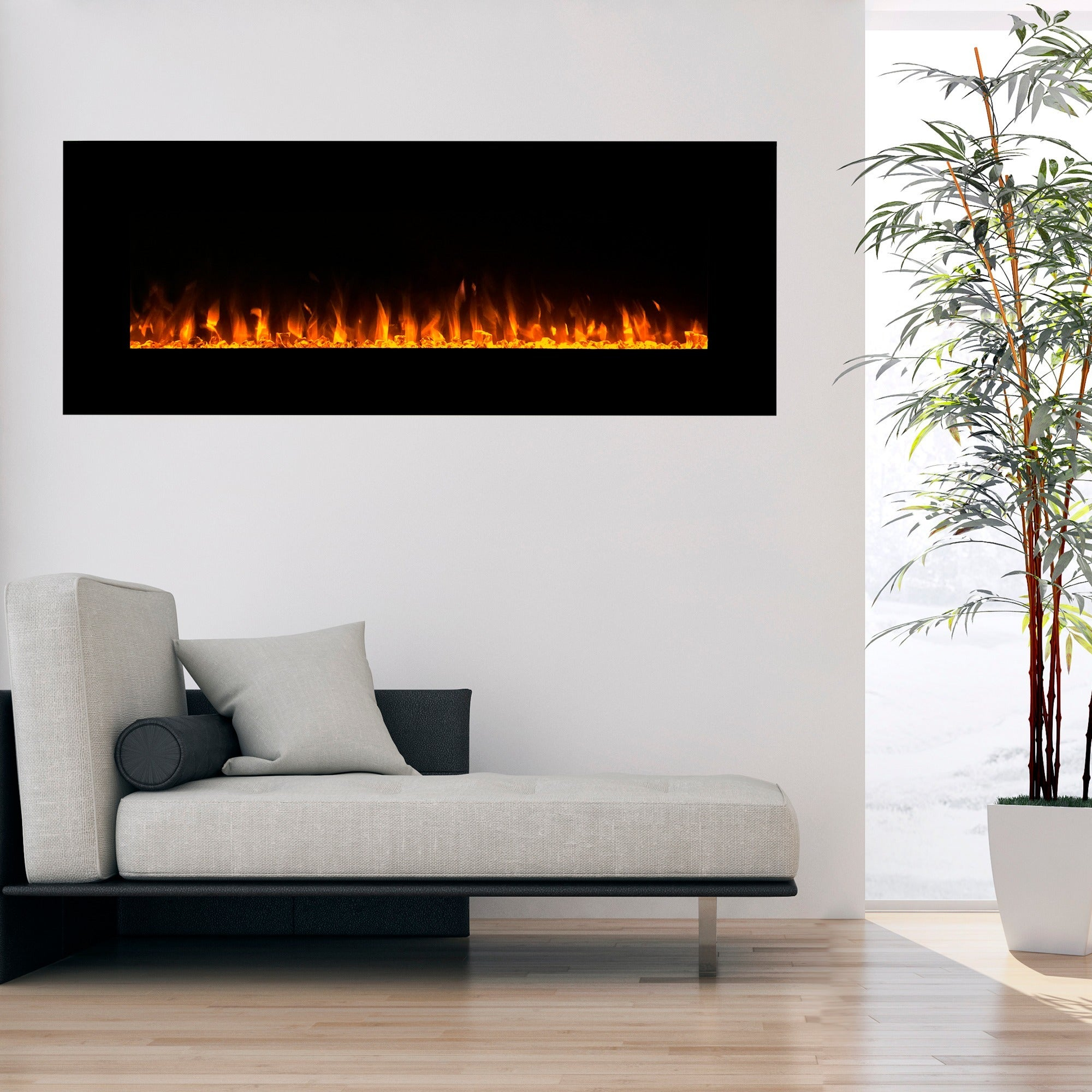 fireplace mounted electric improvement audioflare wall wayfair touchstone home ca pdp stainless