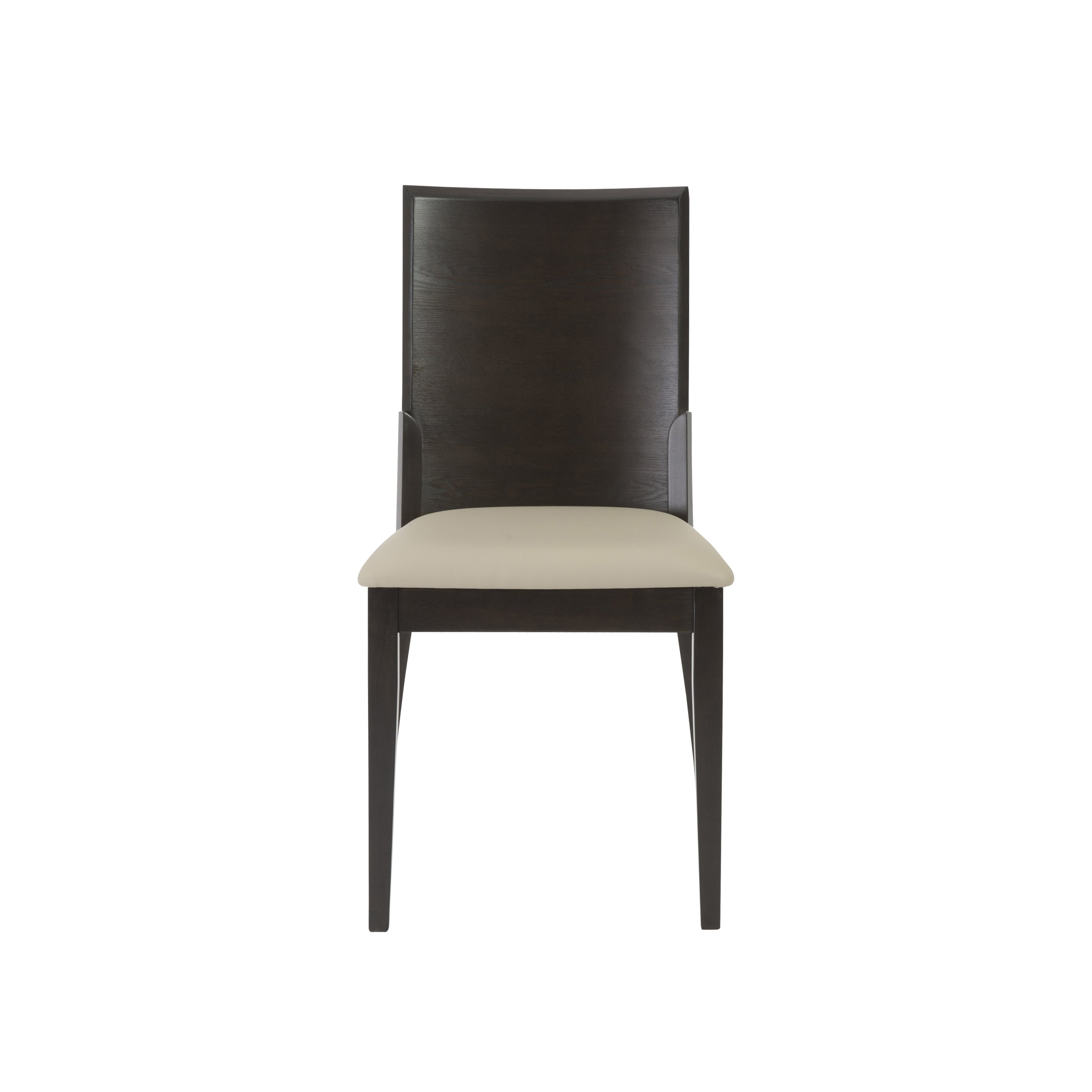 Shop Touchstone Light Grey/ Wenge Dining Chairs (Set Of 2)   Free Shipping  Today   Overstock.com   10707189