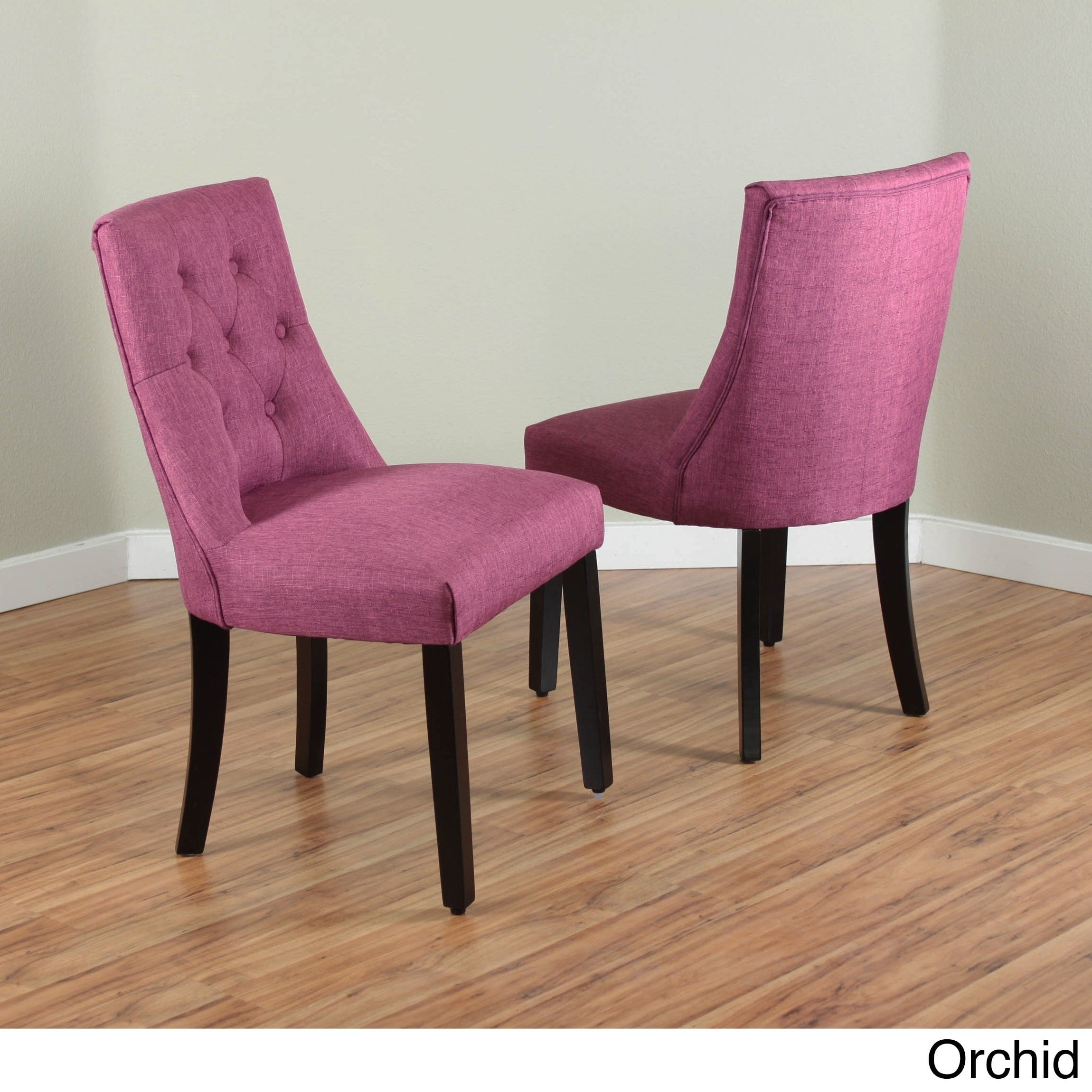 Fabulous Bellcrest Upholstered Espresso Dining Chairs (Set of 2) - Free  TY27