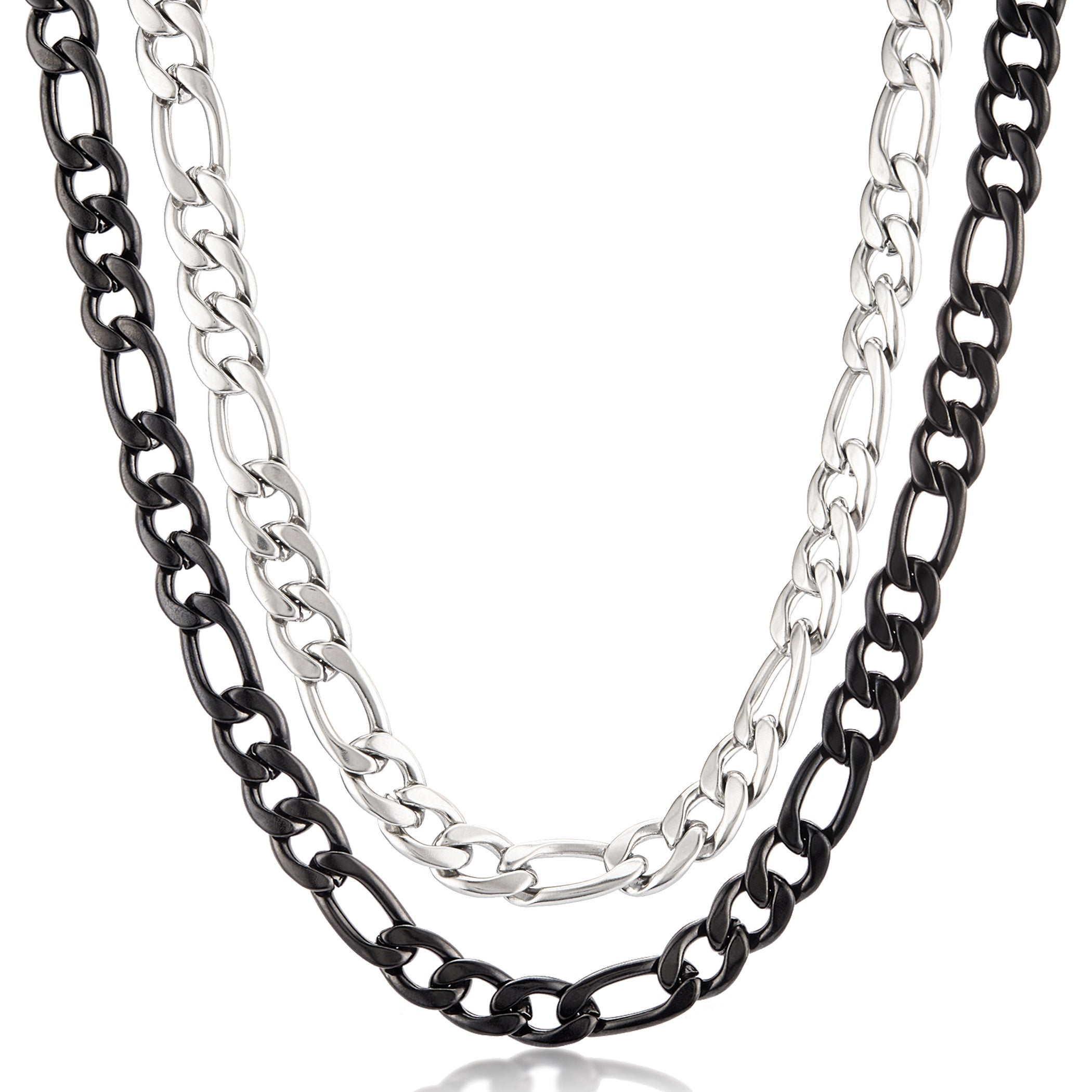 snake com australia real men matte walmart chains chain jewery finish for silver necklace ip jewelry bico tribal