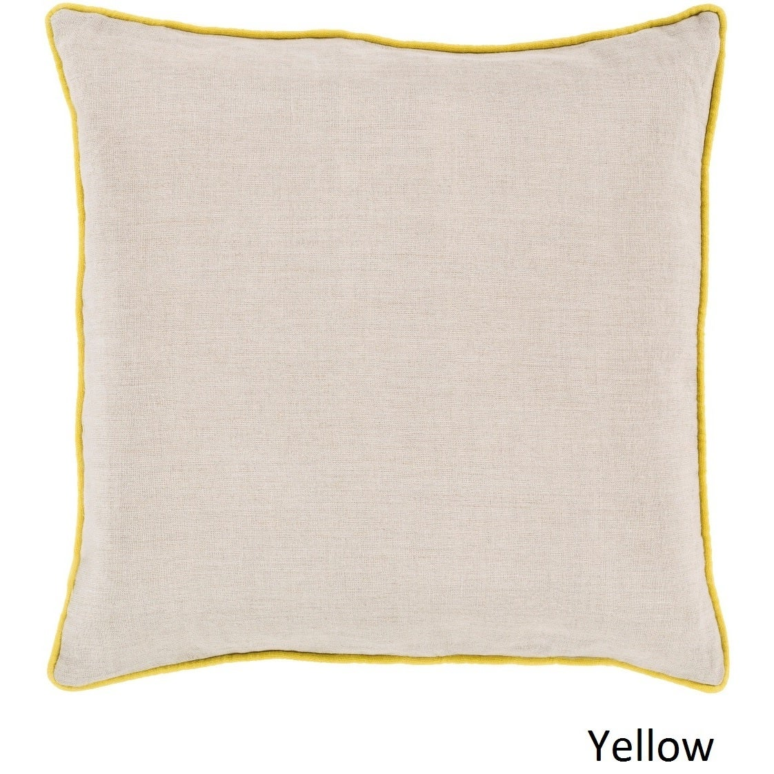 Decorative Kirwan 20 Inch Poly Or Feather Down Filled Pillow On Free Shipping Orders Over 45 10708222