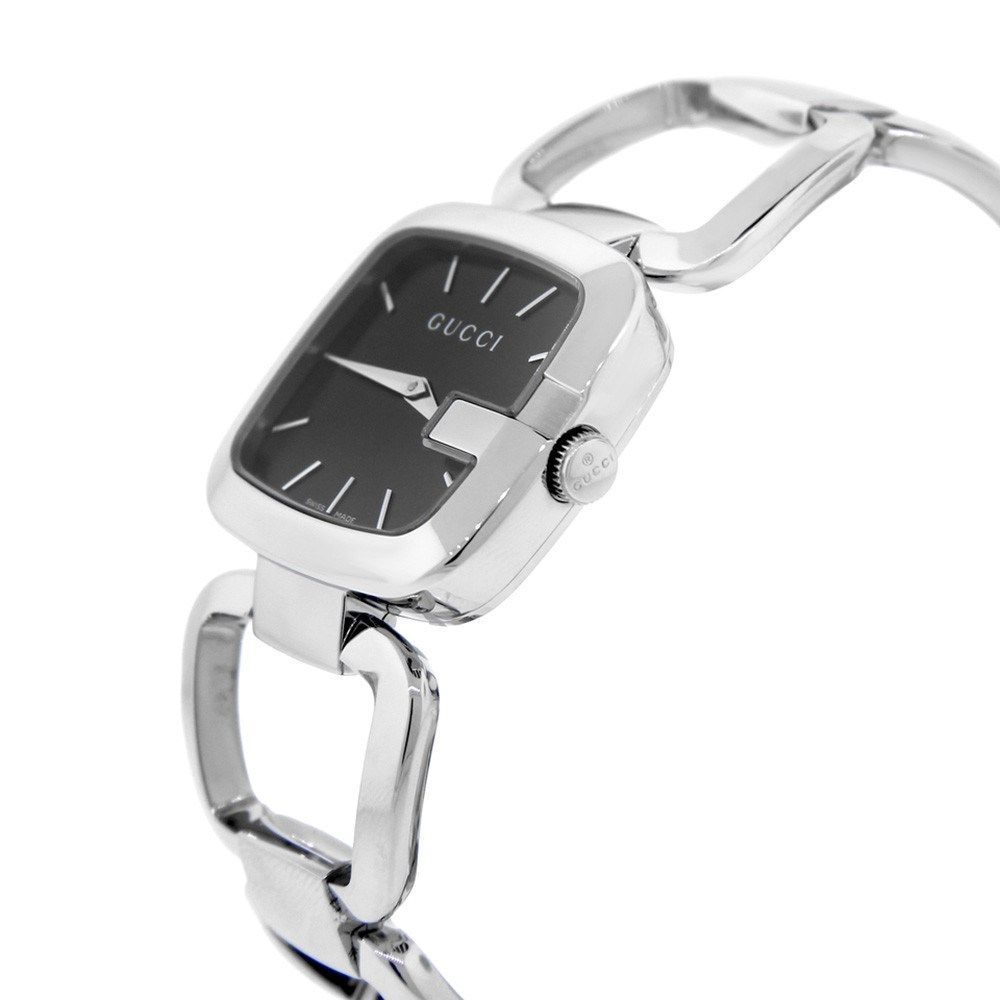 75c8def3ead Shop Gucci Women s YA125407  G-Gucci  Stainless Steel Watch - Free Shipping  Today - Overstock - 10708553