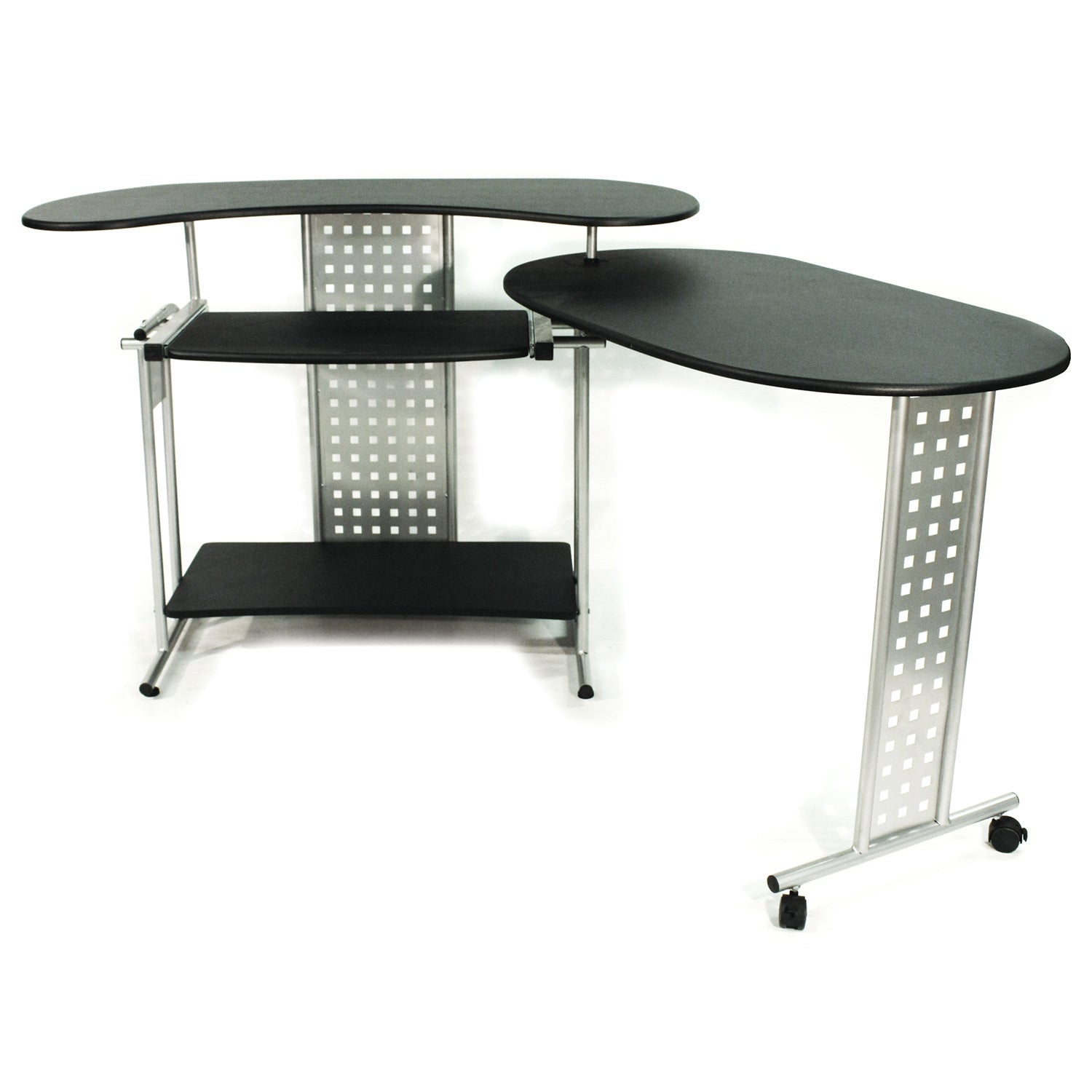 desk lane benching david expandable office adjustable customizable metal system desks fully height