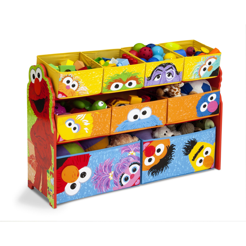 Shop Sesame Street Deluxe Multi Bin Organizer By Delta Children