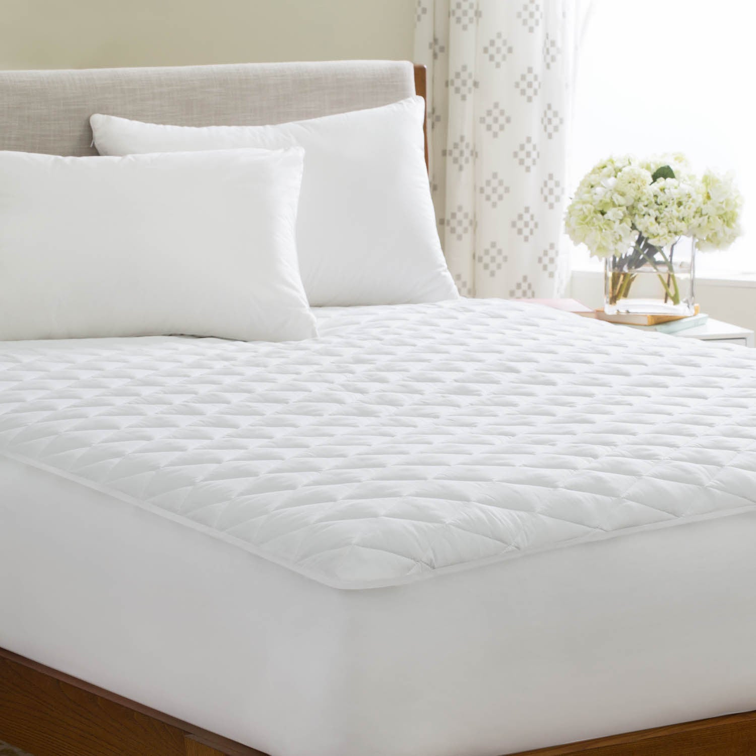 bath pdx wayfair pad reviews bed elle mattress polyester decor