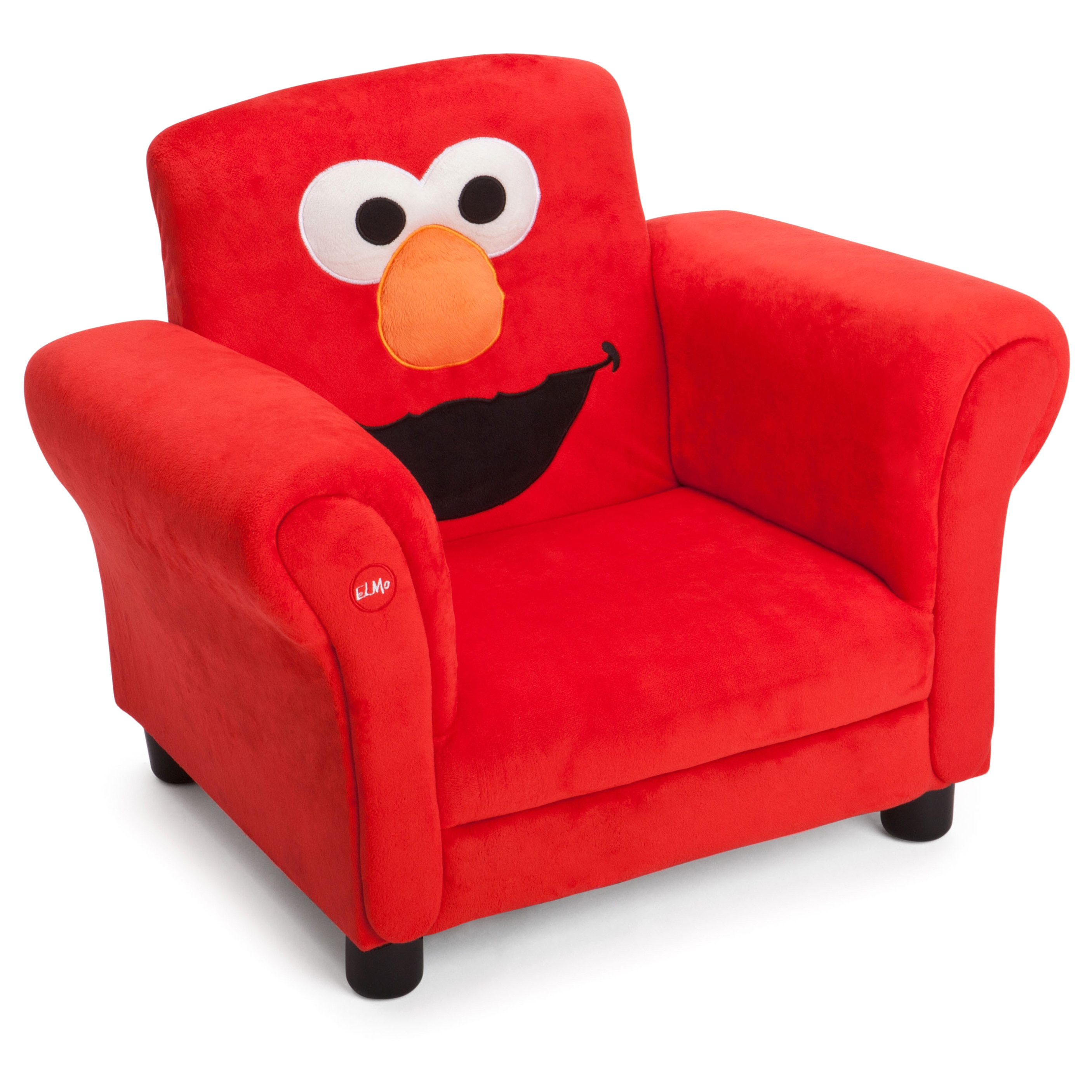 Shop delta children sesame street upholstered chair with sound free shipping today overstock com 10736772