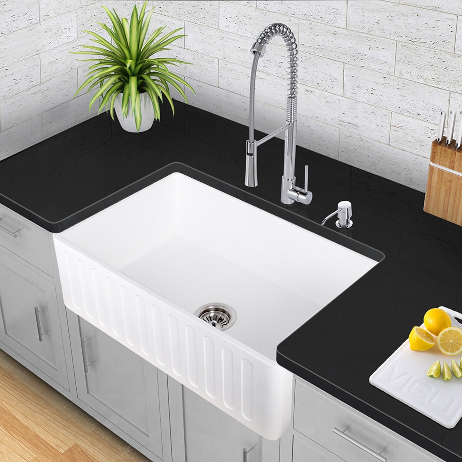 best awards a fireclay wins in sink shaws new no sinks product kbis rohl gold waterside award overflow of kitchen