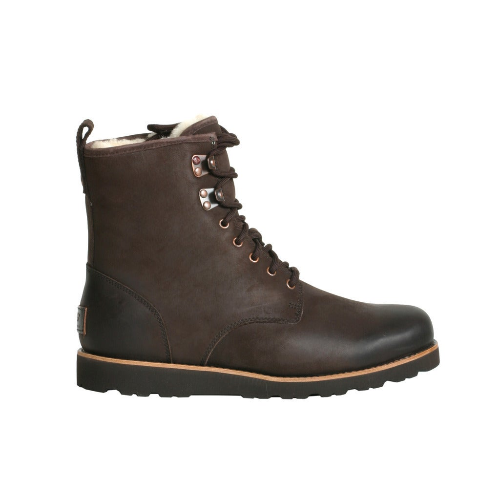 Shop Ugg Men's Hannen TL Leather Boots - Free Shipping Today - Overstock.com - 10747078