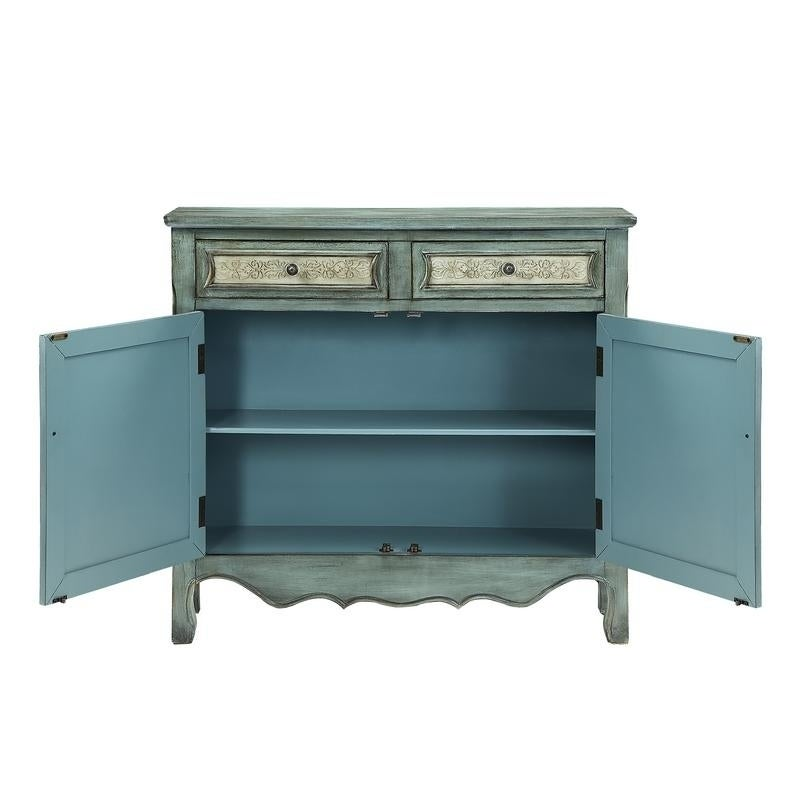 Shop Powell Hannah Console   Free Shipping Today   Overstock.com   10754924